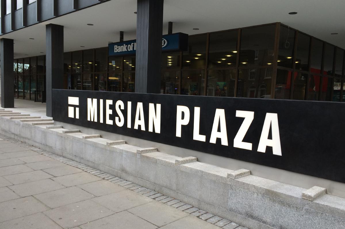 Cover image: Miesian Plaza