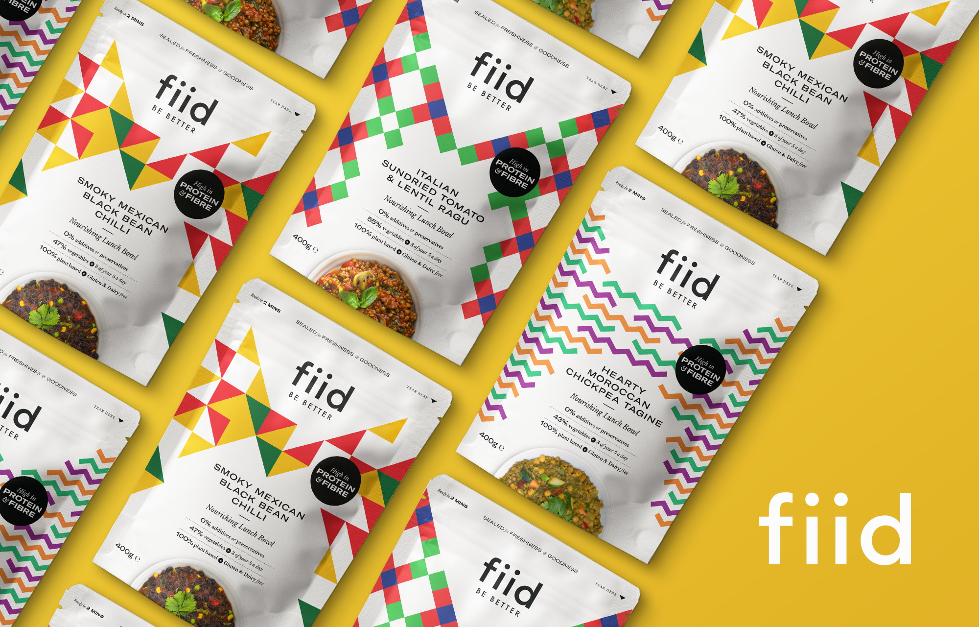 Cover image: fiid — Vegan Lunch Bowls