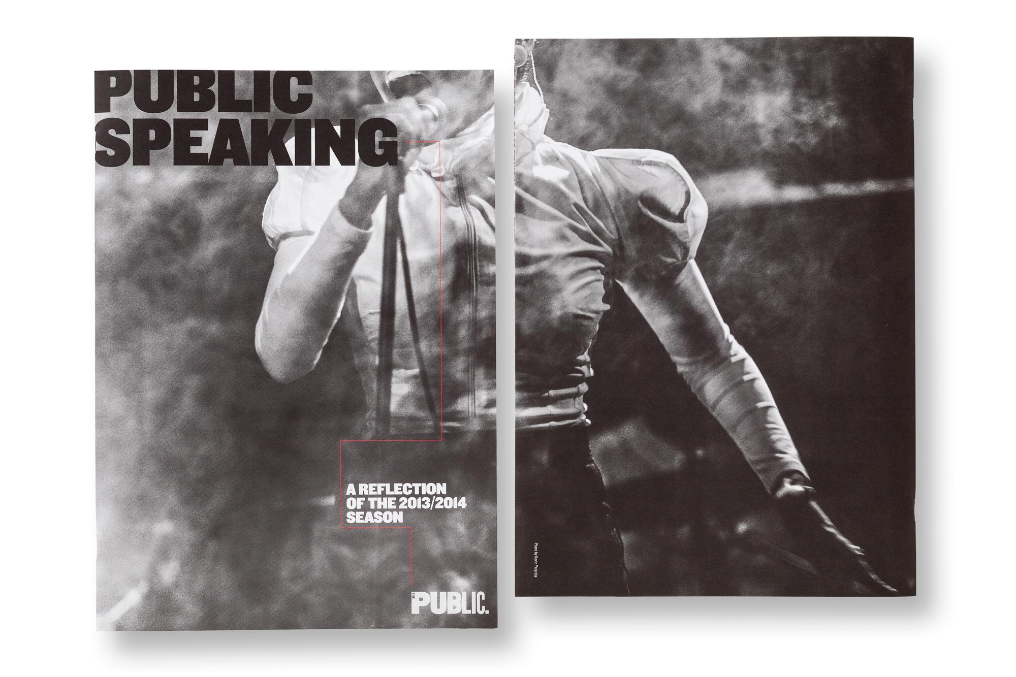 Cover image: The Public Theatre: Public Speaking