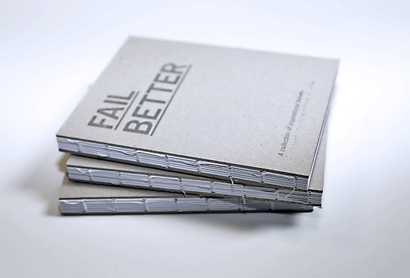 Cover image: Fail Better: Exhibition Book