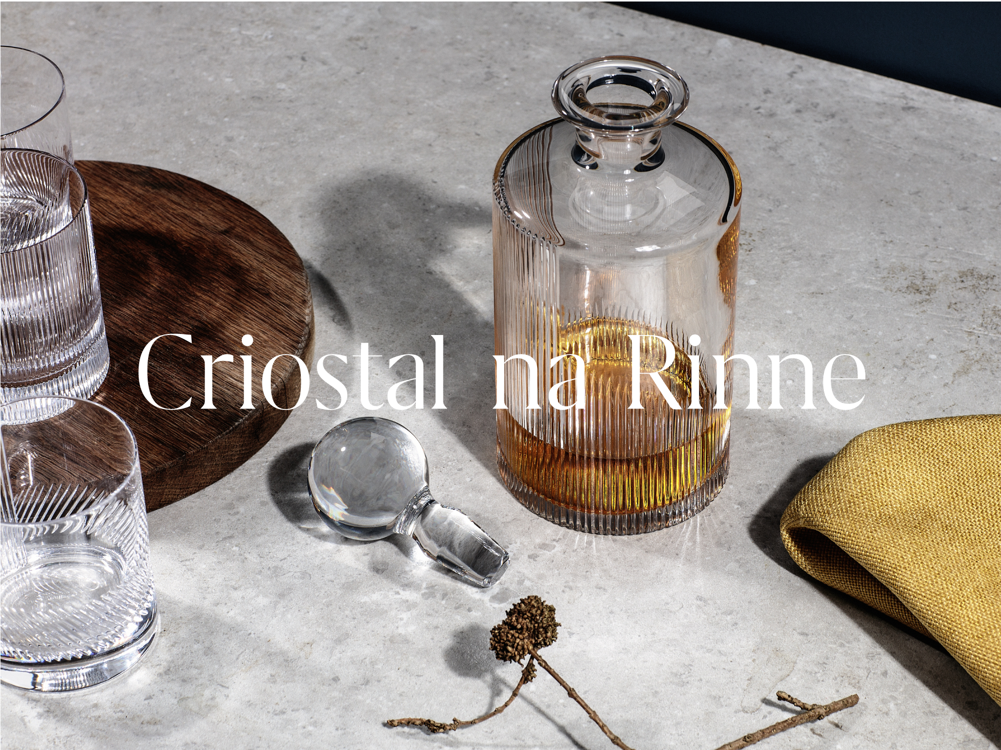Cover image: Criostal na Rinne