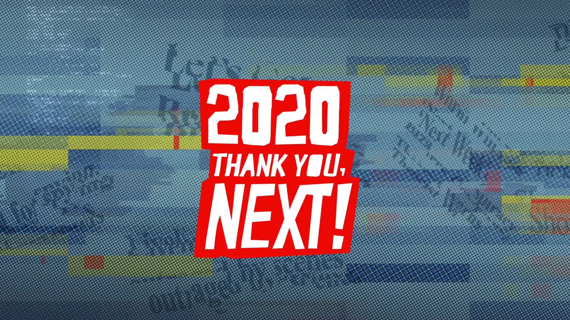 Cover image: 2020 Thank You Next