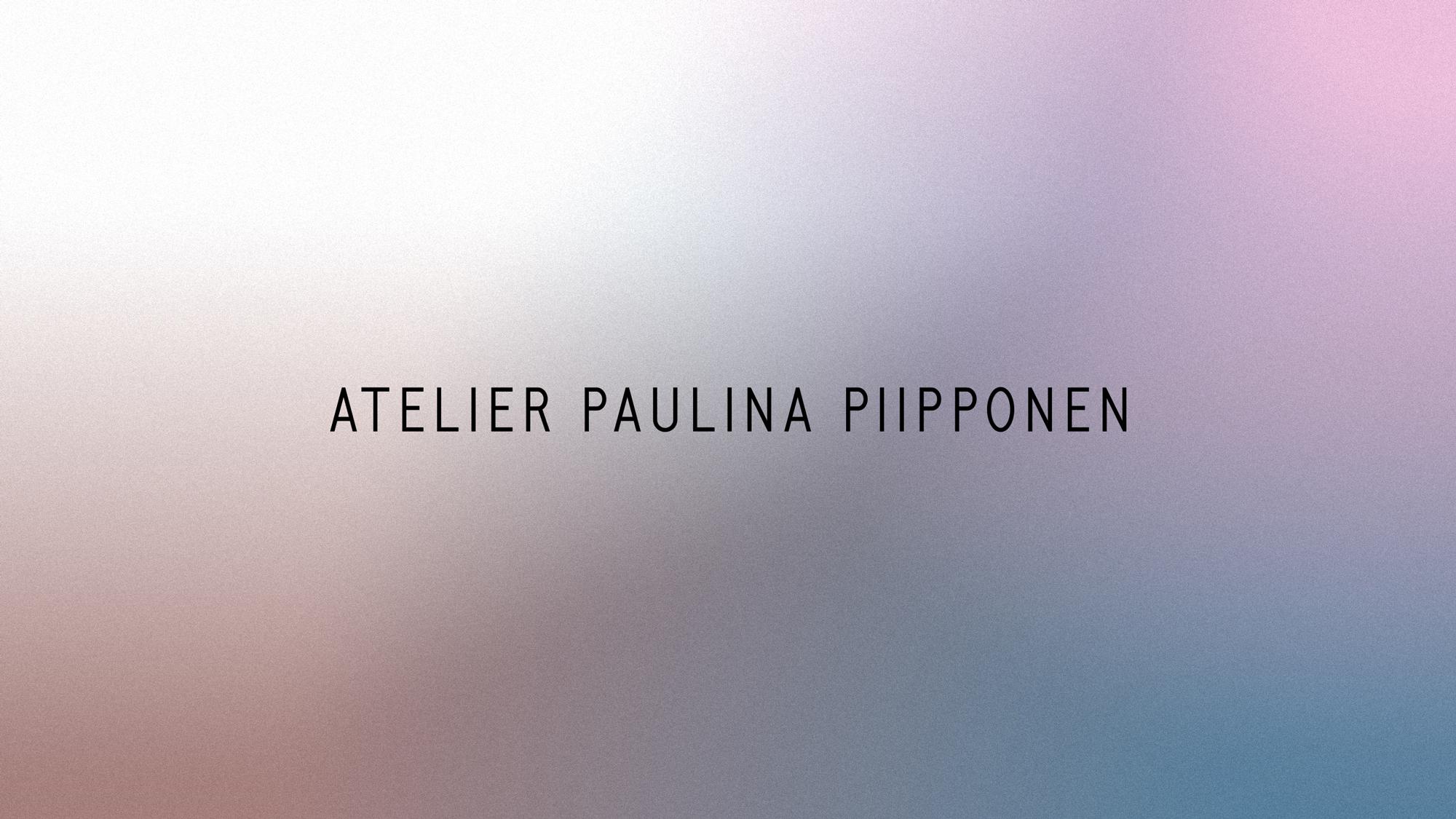 Cover image: Atelier Paulina Piipponen