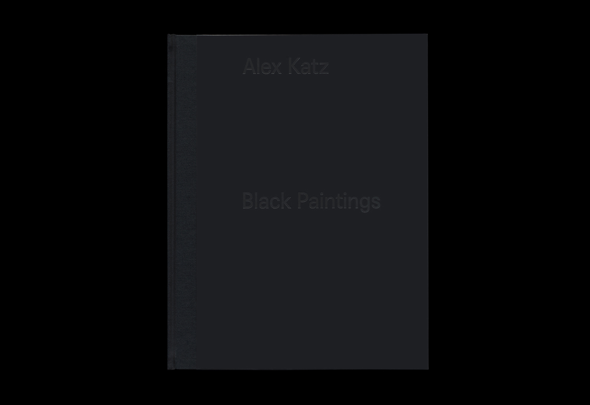 Cover image: Alex Katz: Black Paintings (2015)