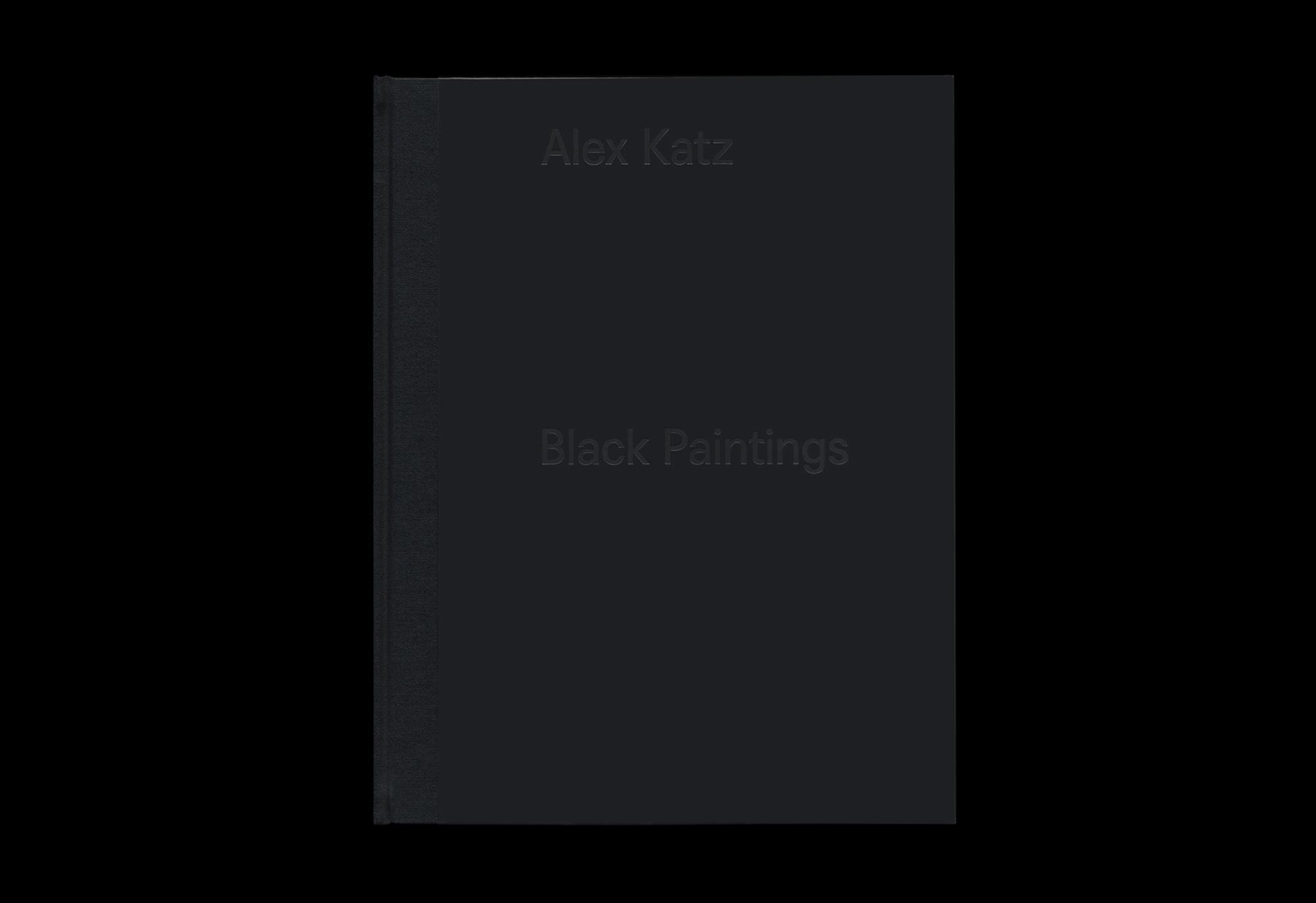 Cover image: Alex Katz: Black Paintings (2015)