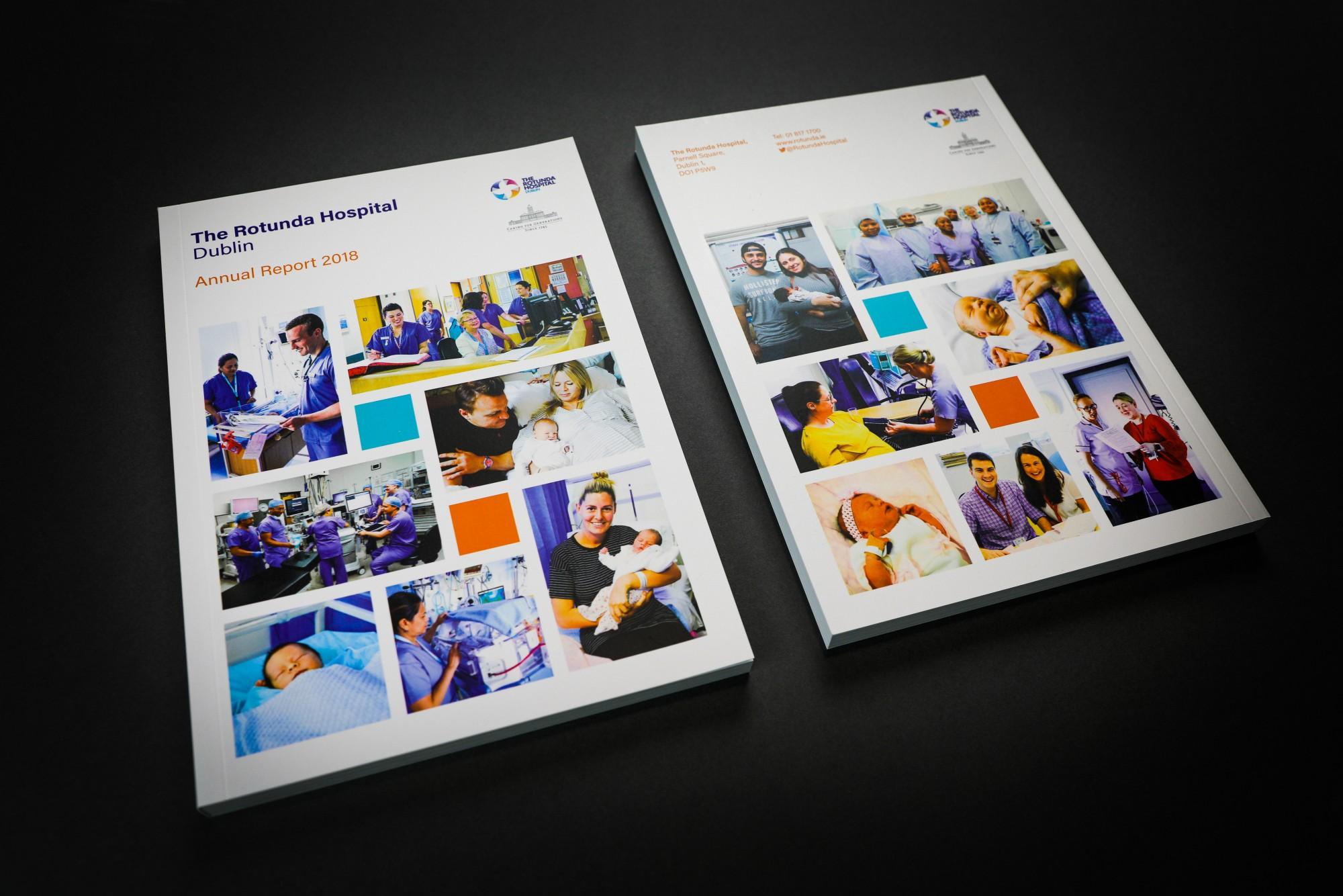Cover image: The Rotunda Hospital Annual Report 2018