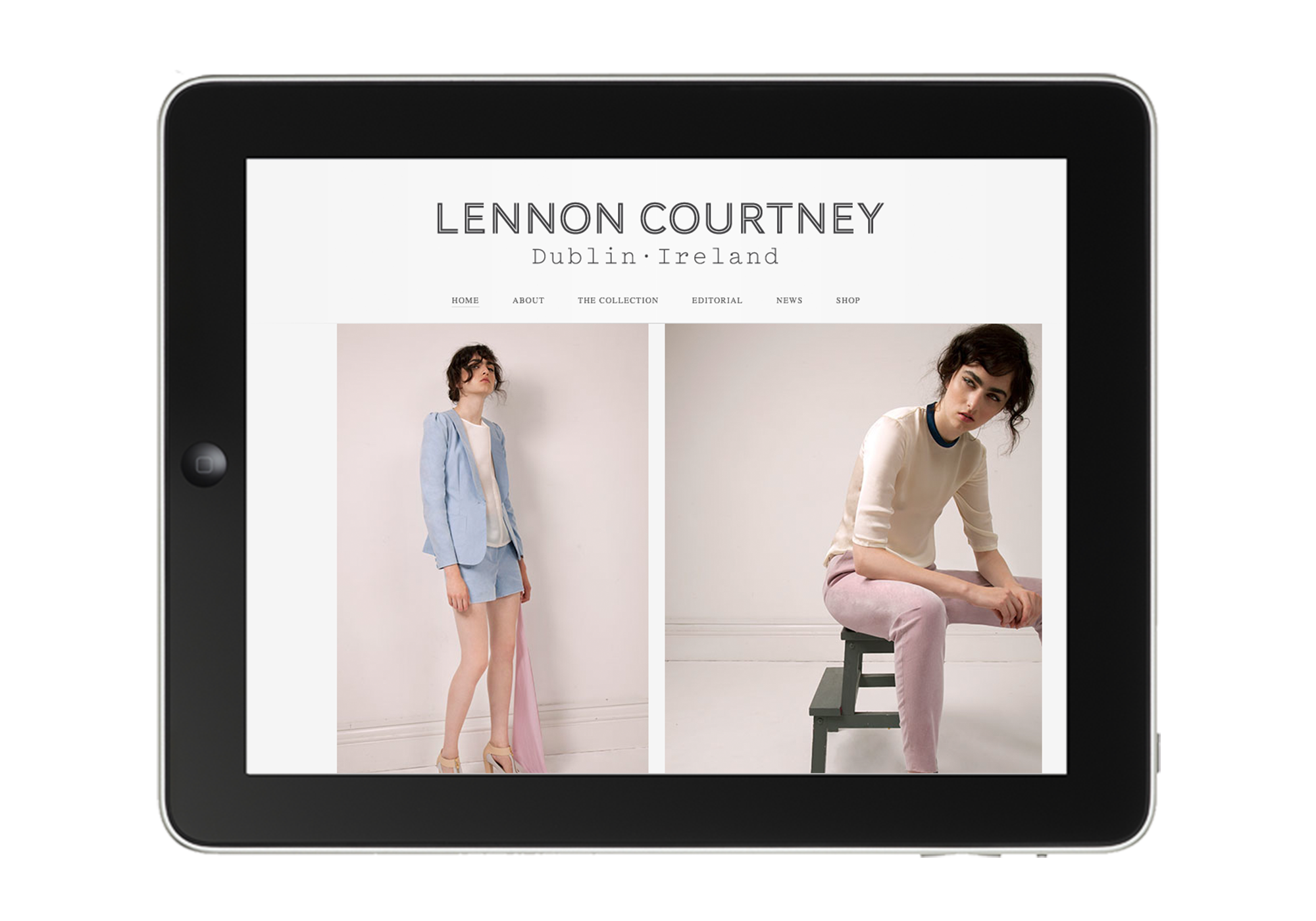 Cover image: Lennon Courtney Website