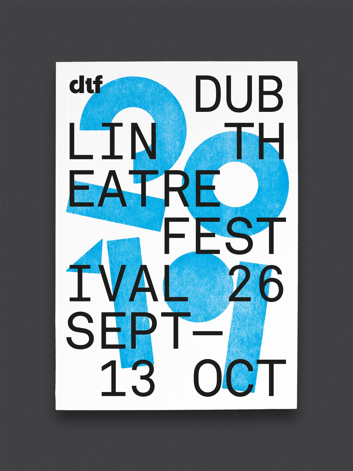 Cover image: Dublin Theatre Festival 2019