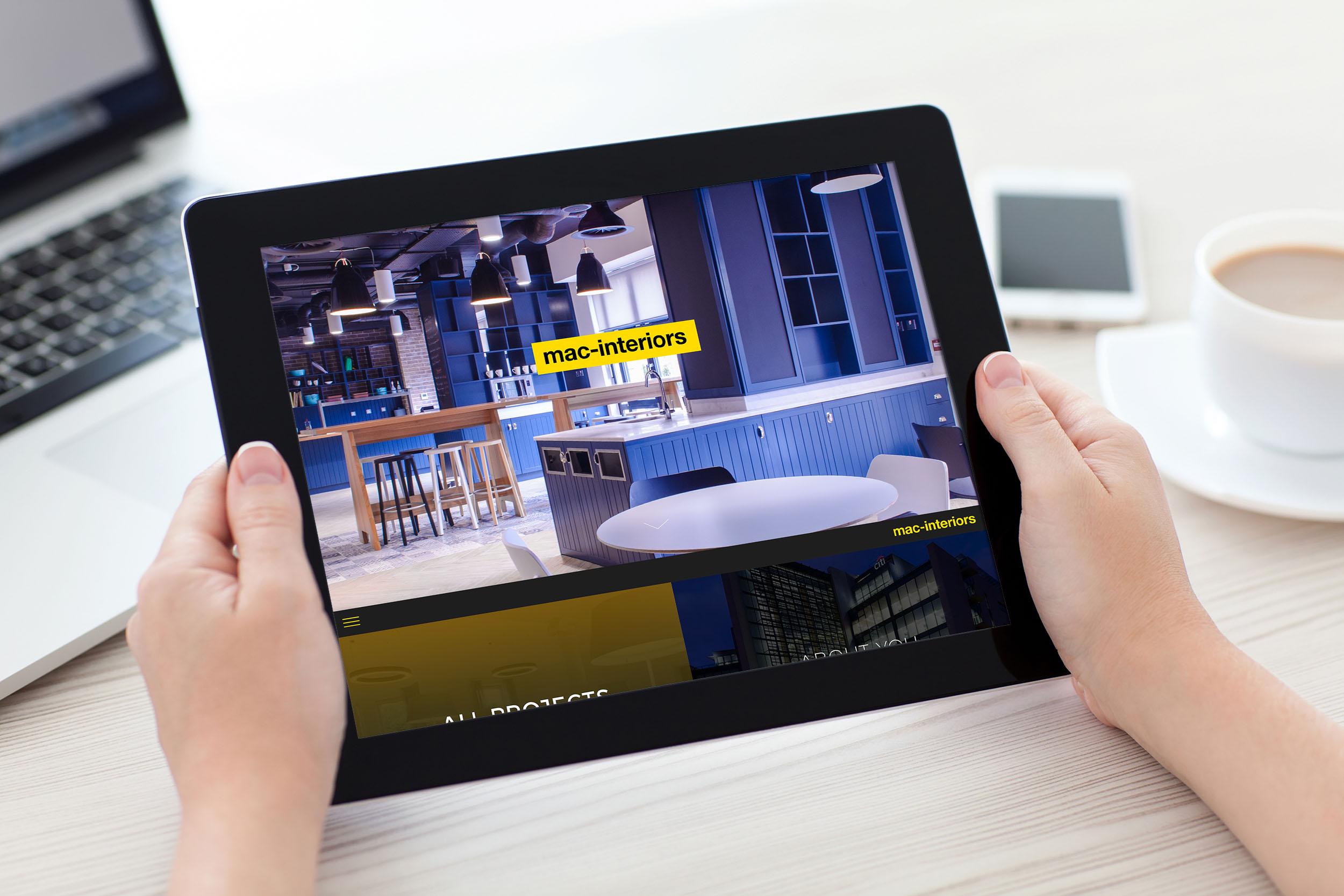 Cover image: mac-interiors website