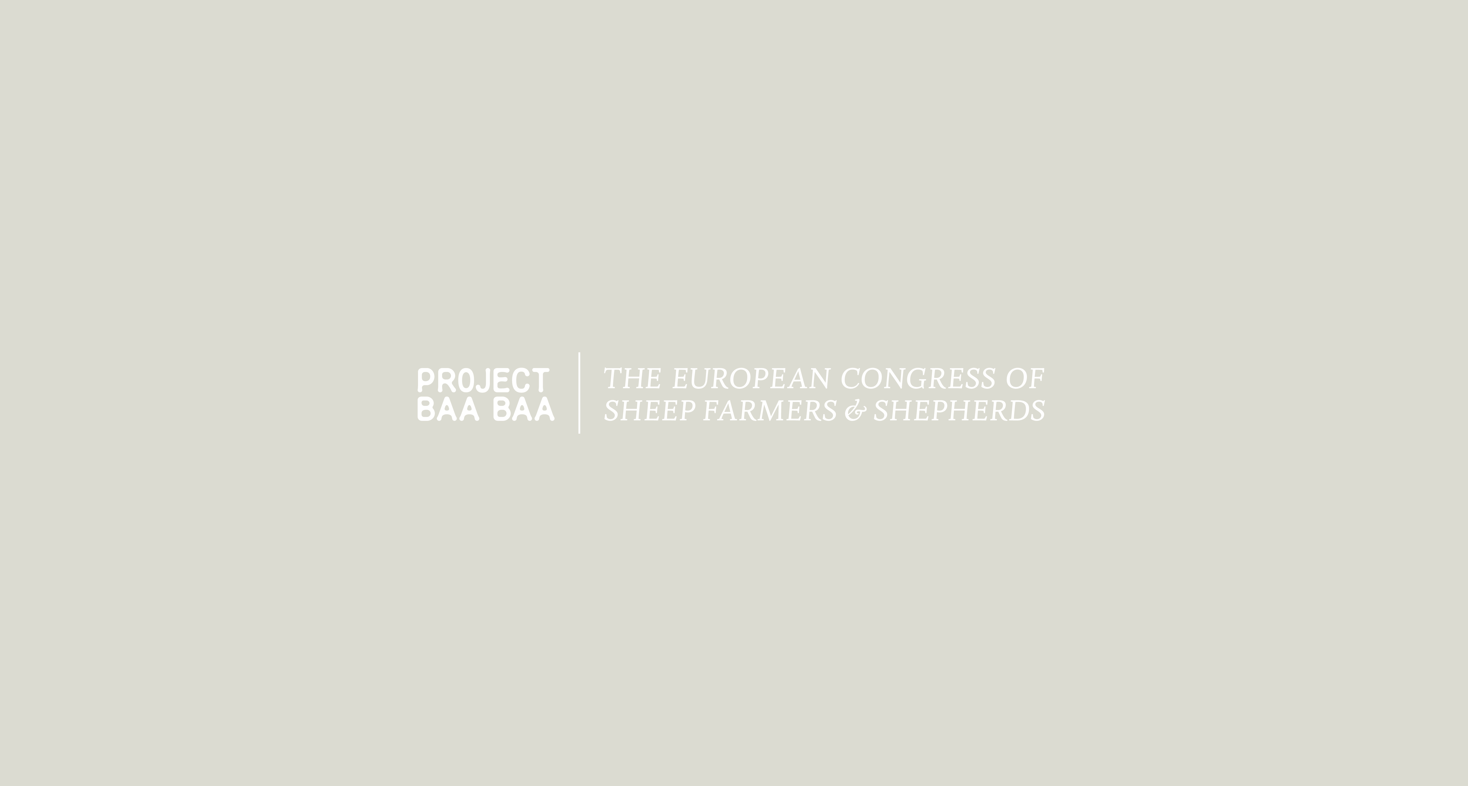 Cover image: Project Baa Baa | The European Congress of sheep farmers and shepherds