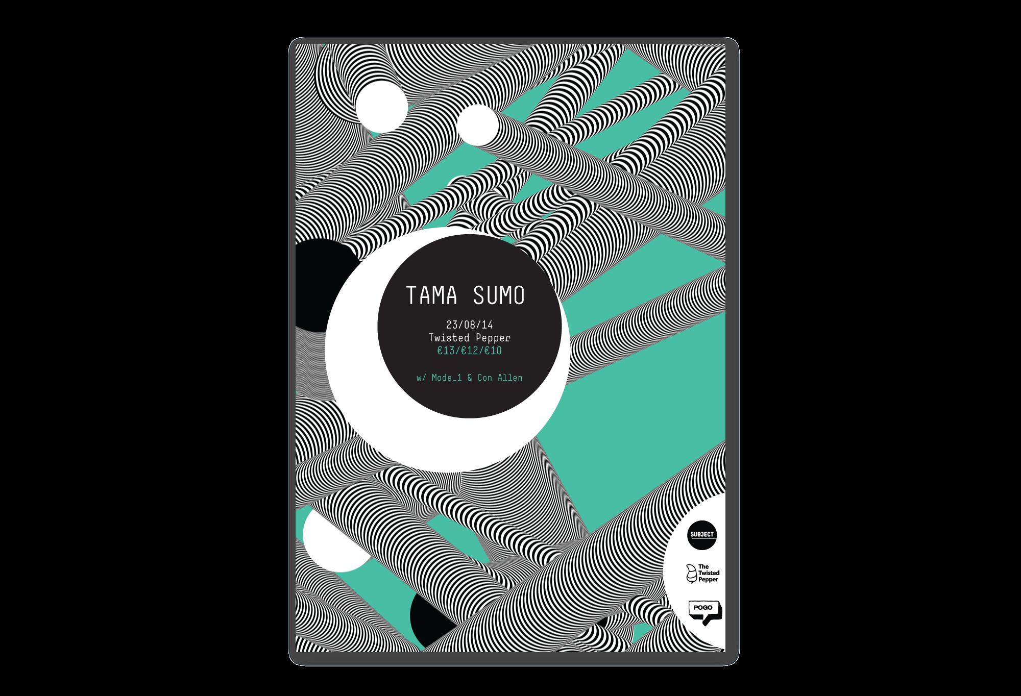 Cover image: Tama Sumo Poster