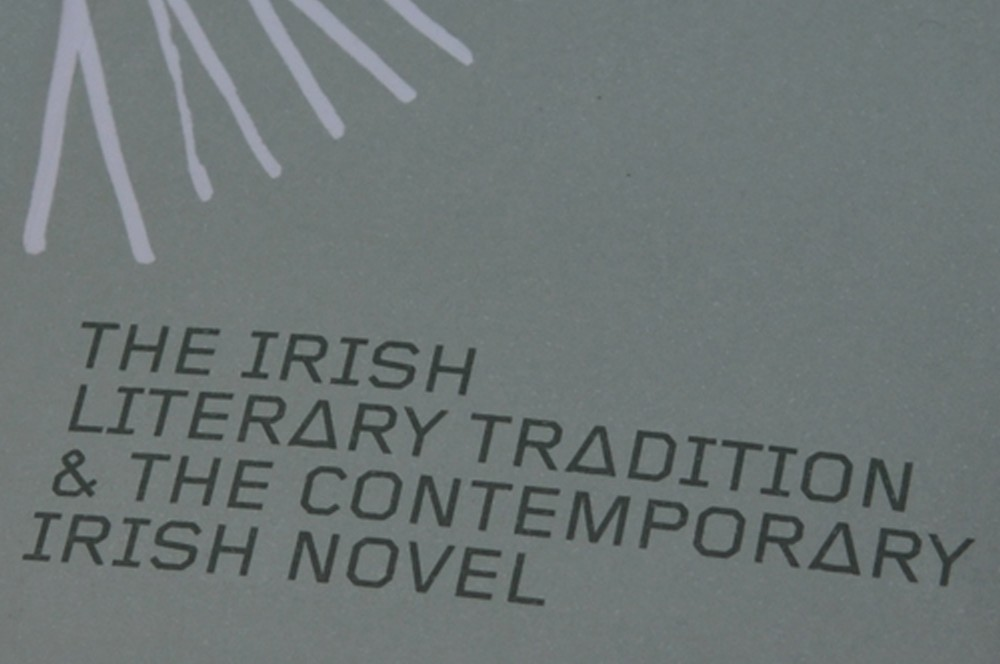 Cover image: The Irish Literary Tradition & The Contemporary Irish Novel
