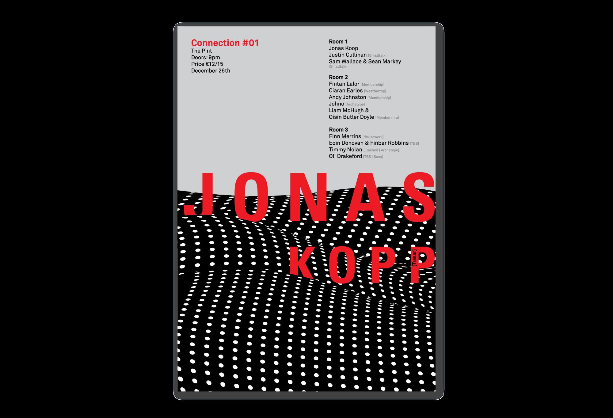 Cover image: Jonas Kopp Poster