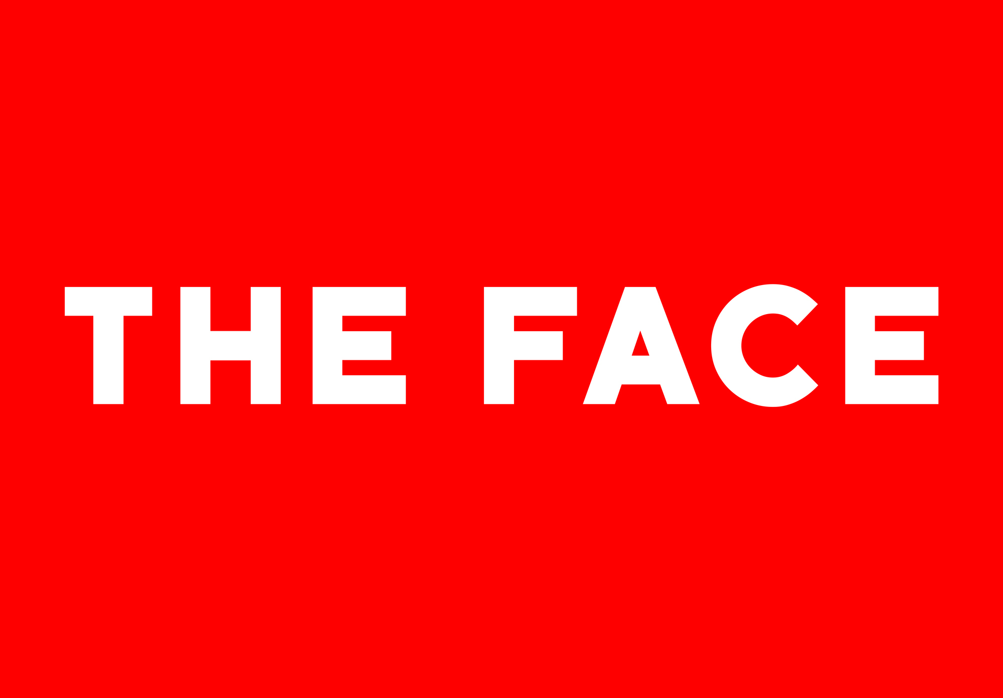 Cover image: The Face Website