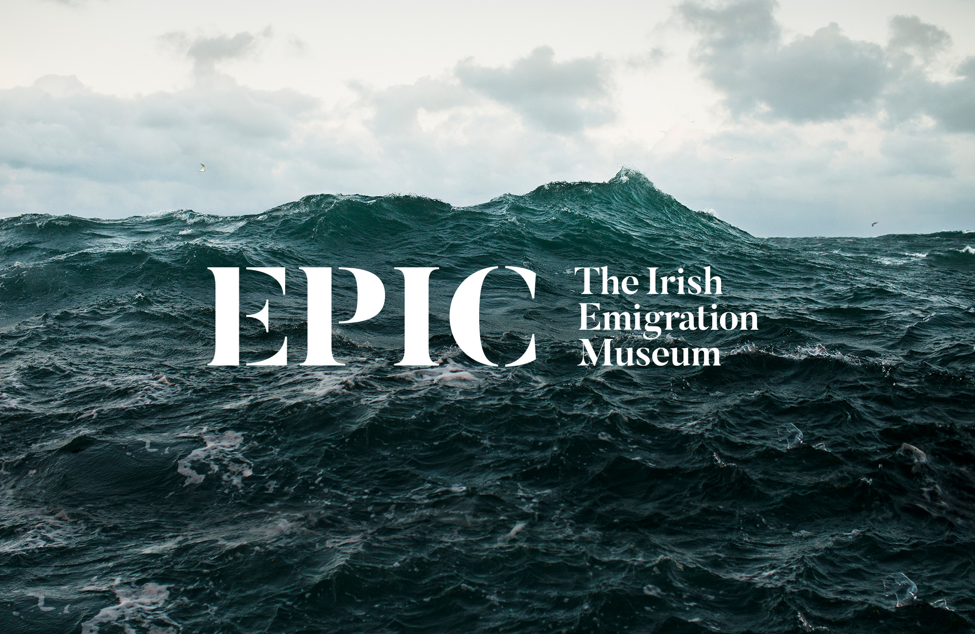 Cover image: EPIC The Irish Emigration Museum — Visual Identity