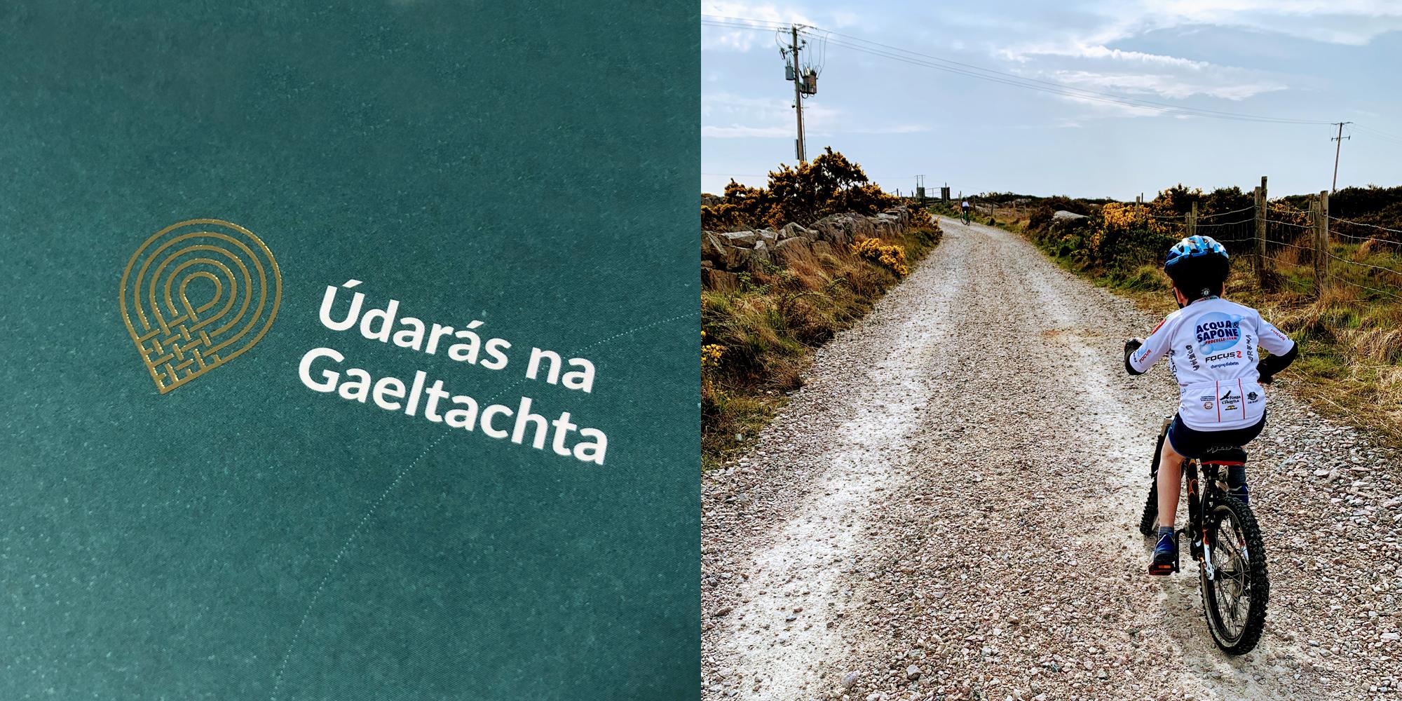 Cover image: Údarás na Gaeltachta Identity