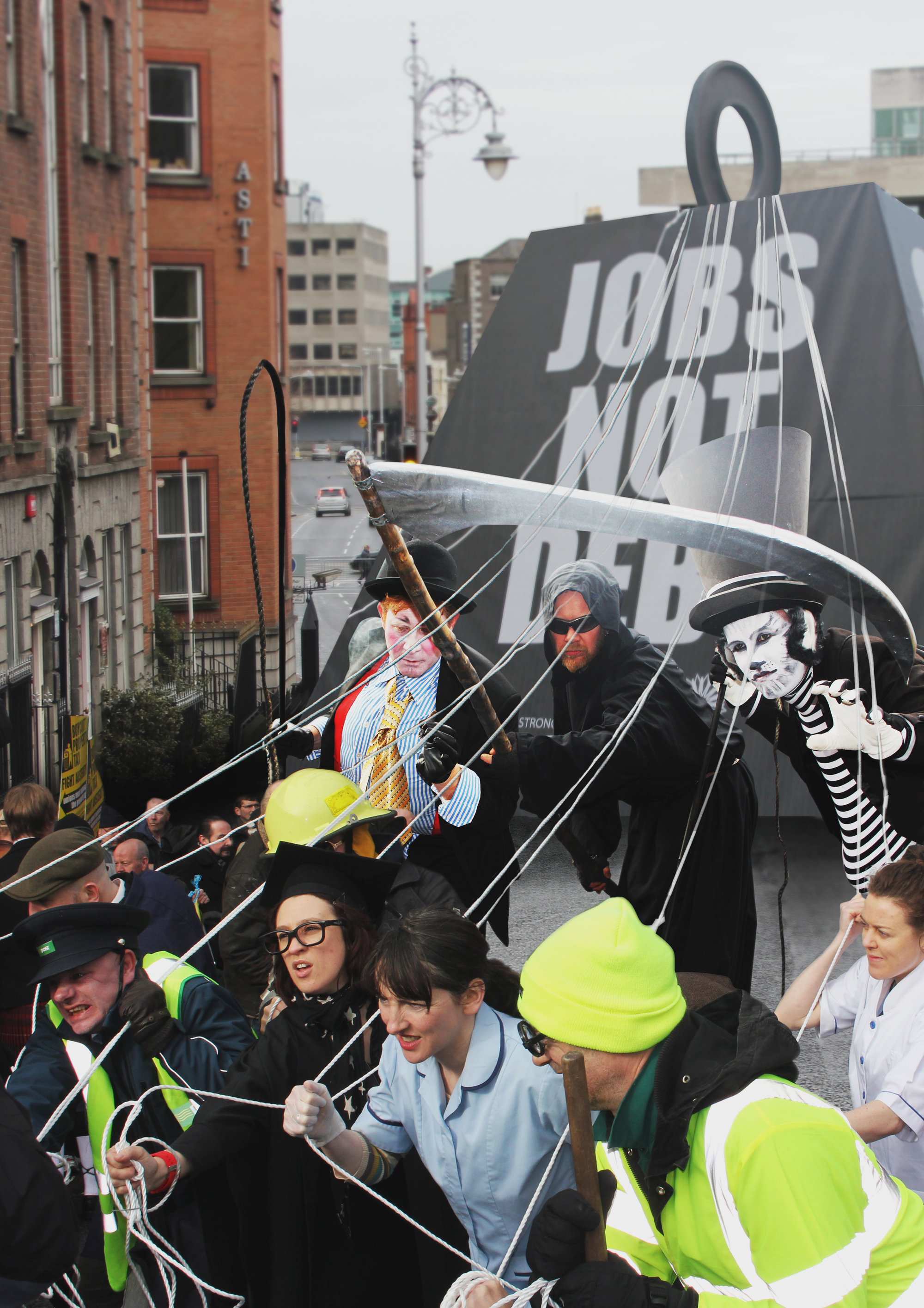 Cover image: JOBS NOT DEBT (2013)