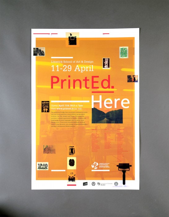 Cover image: PrintEd. Here