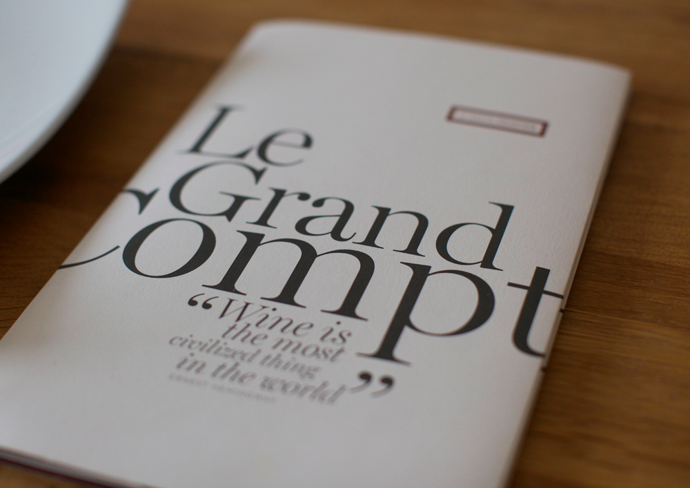 Cover image: Le Grand Comptoir