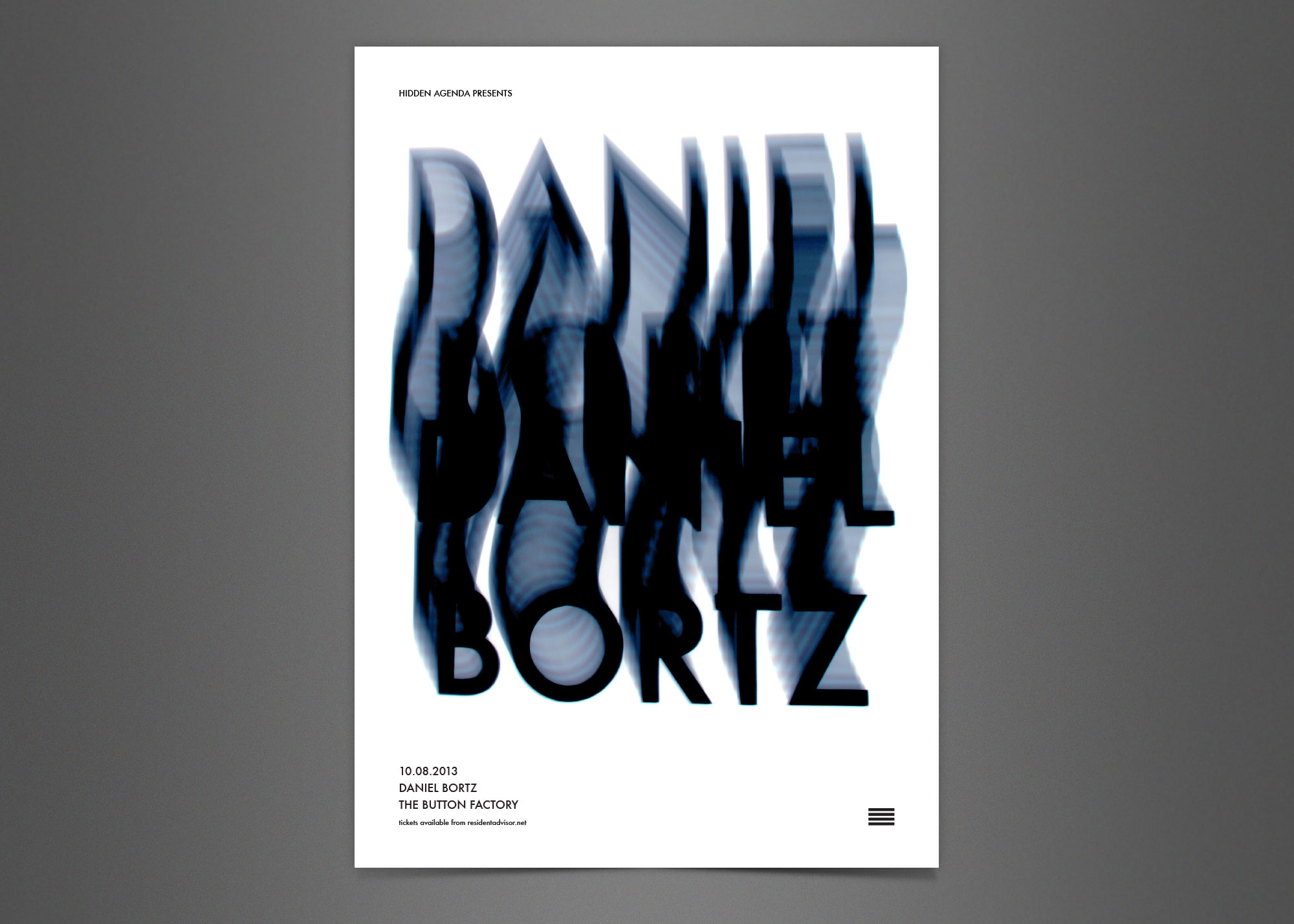 Cover image: Daniel Bortz Poster (2013)
