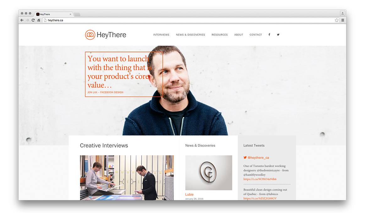 Cover image: HeyThere (2015)