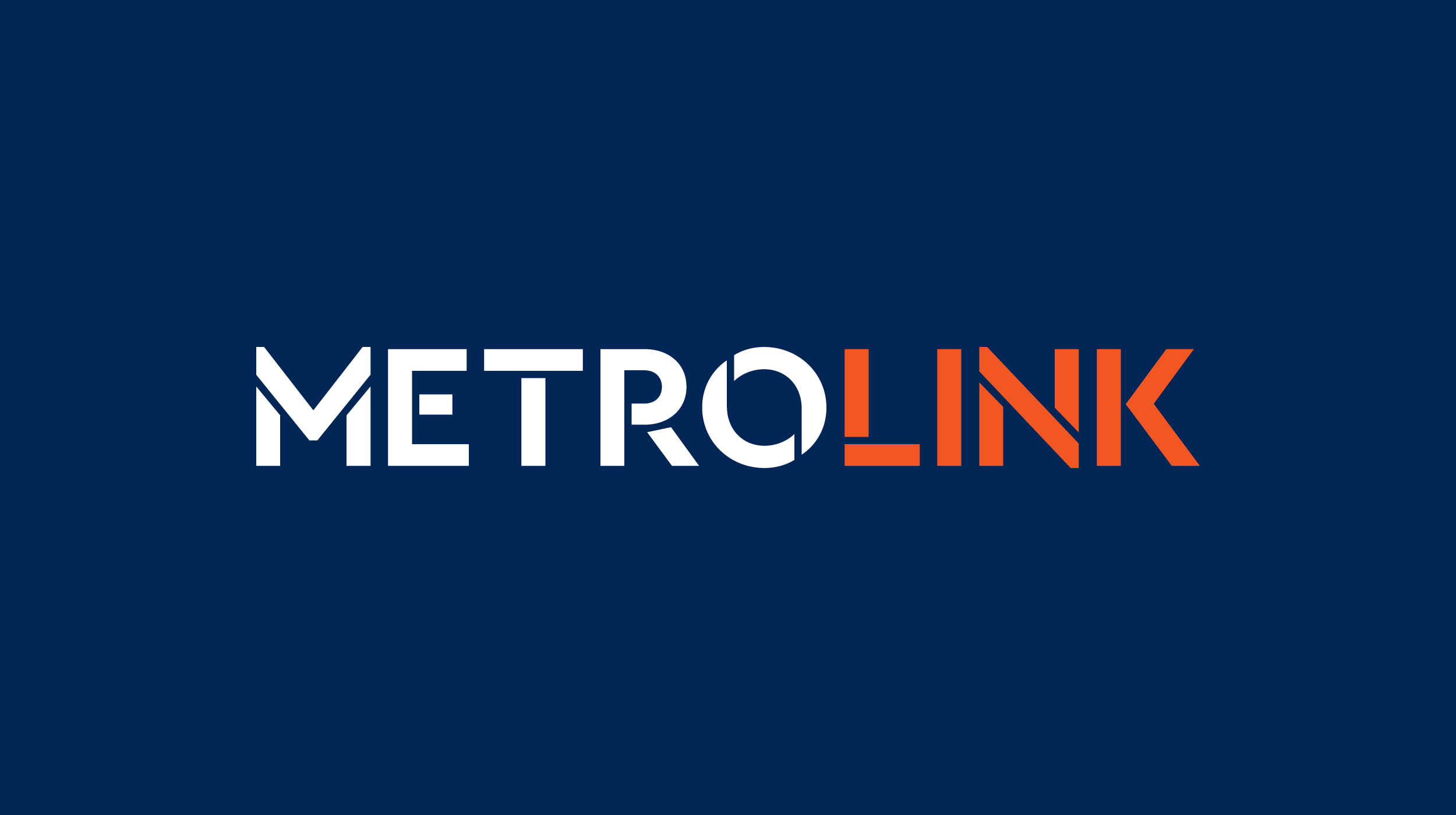 Cover image: MetroLink