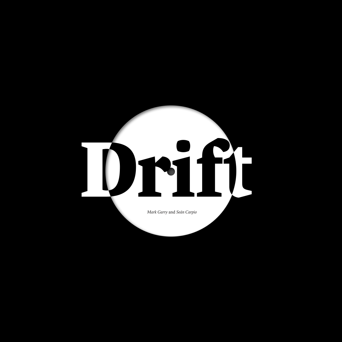 Cover image: Drift (2014)