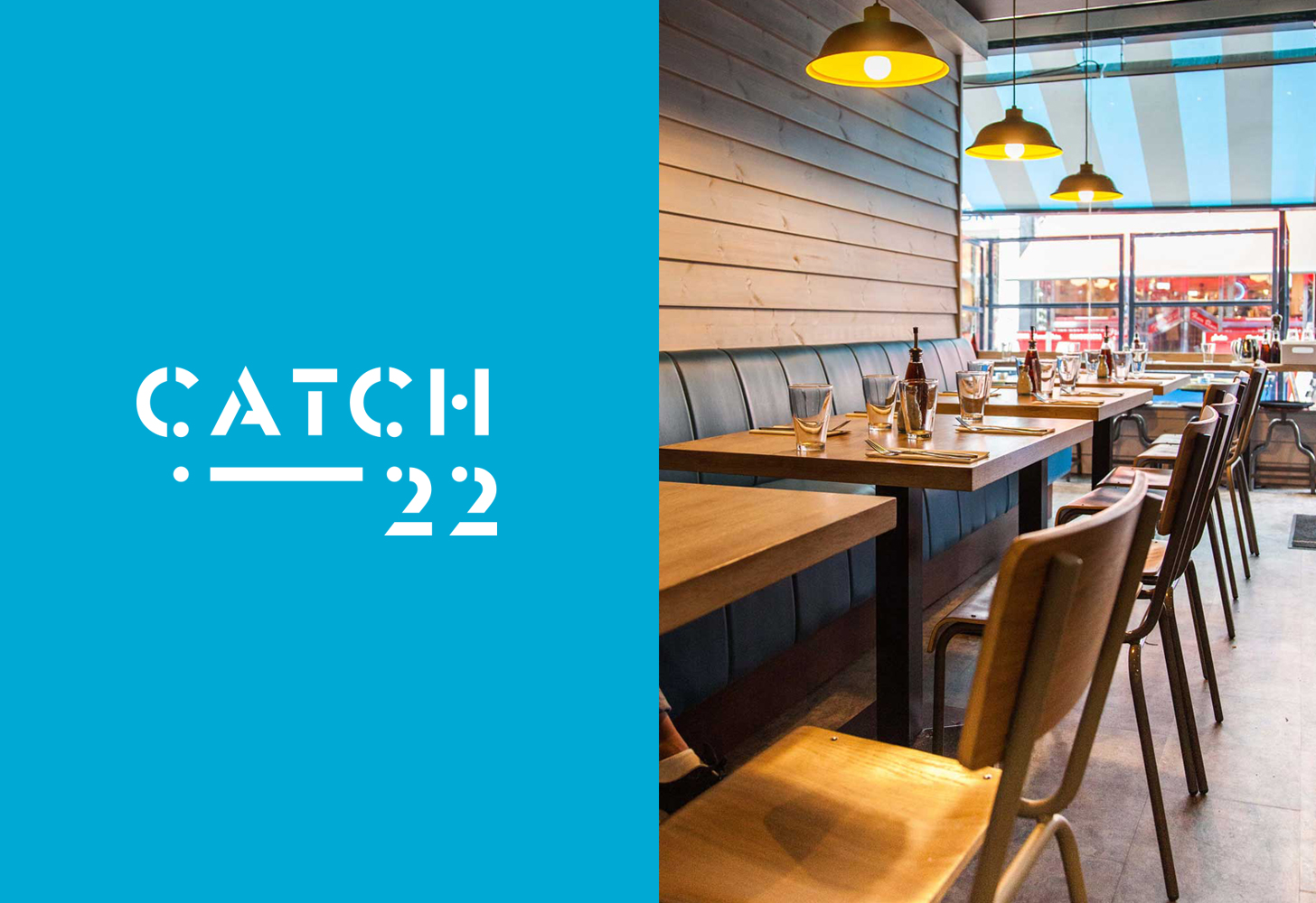 Cover image: Catch-22 Restaurant (2015)