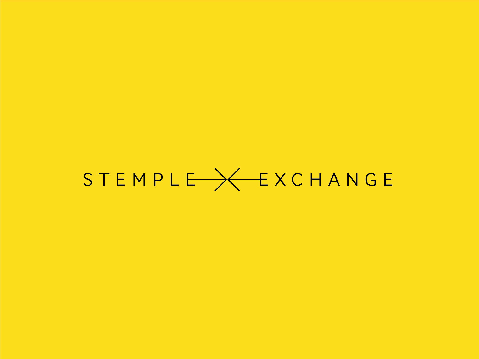 Cover image: Stemple Exchange