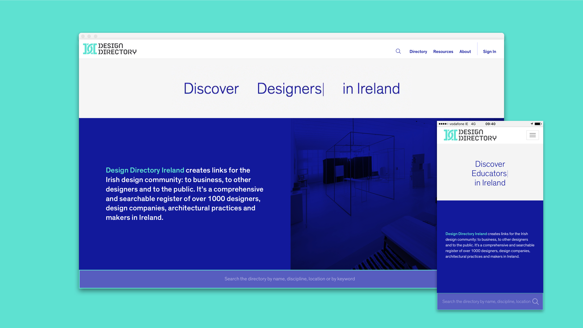Cover image: Design Directory Ireland