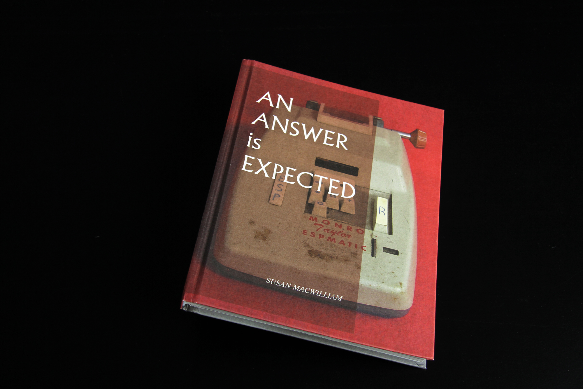 Cover image: An answer is expected: Susan MacWilliam