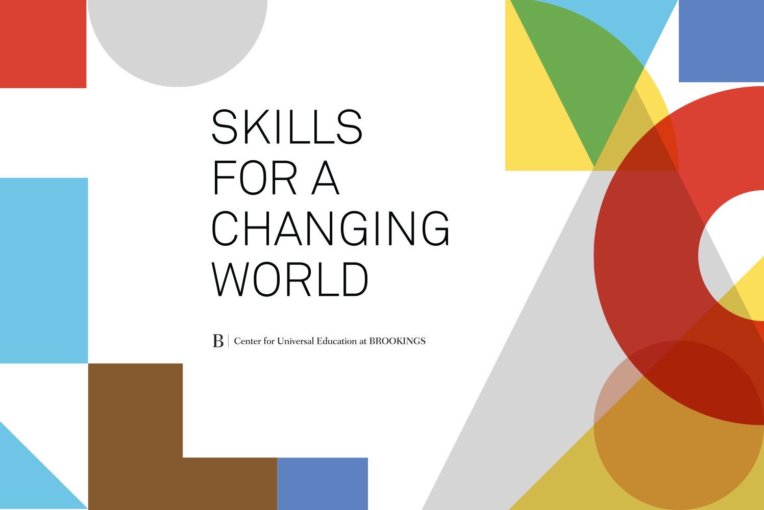 Cover image: Skills for a Changing World