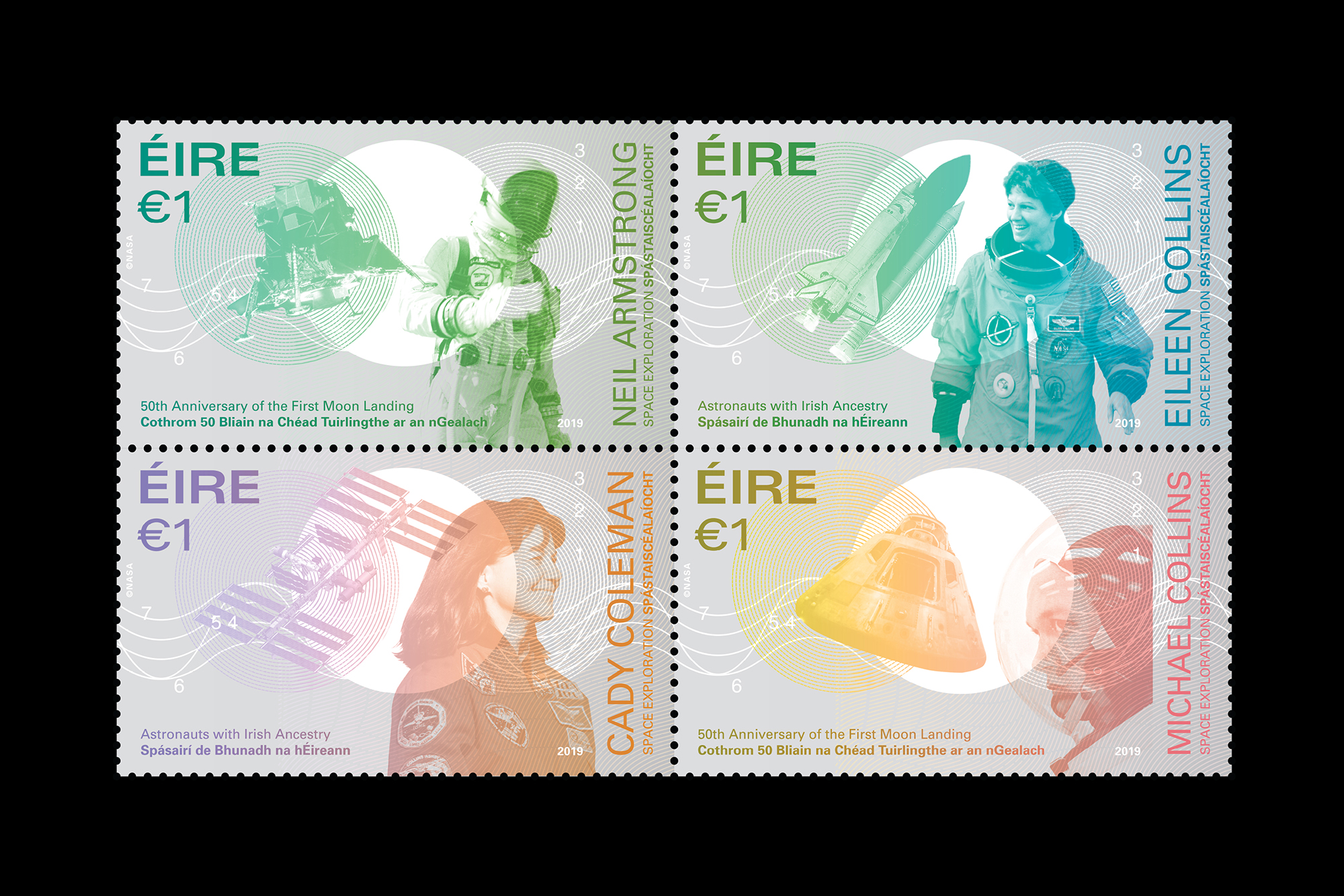 Cover image: Space Exploration Stamp Series