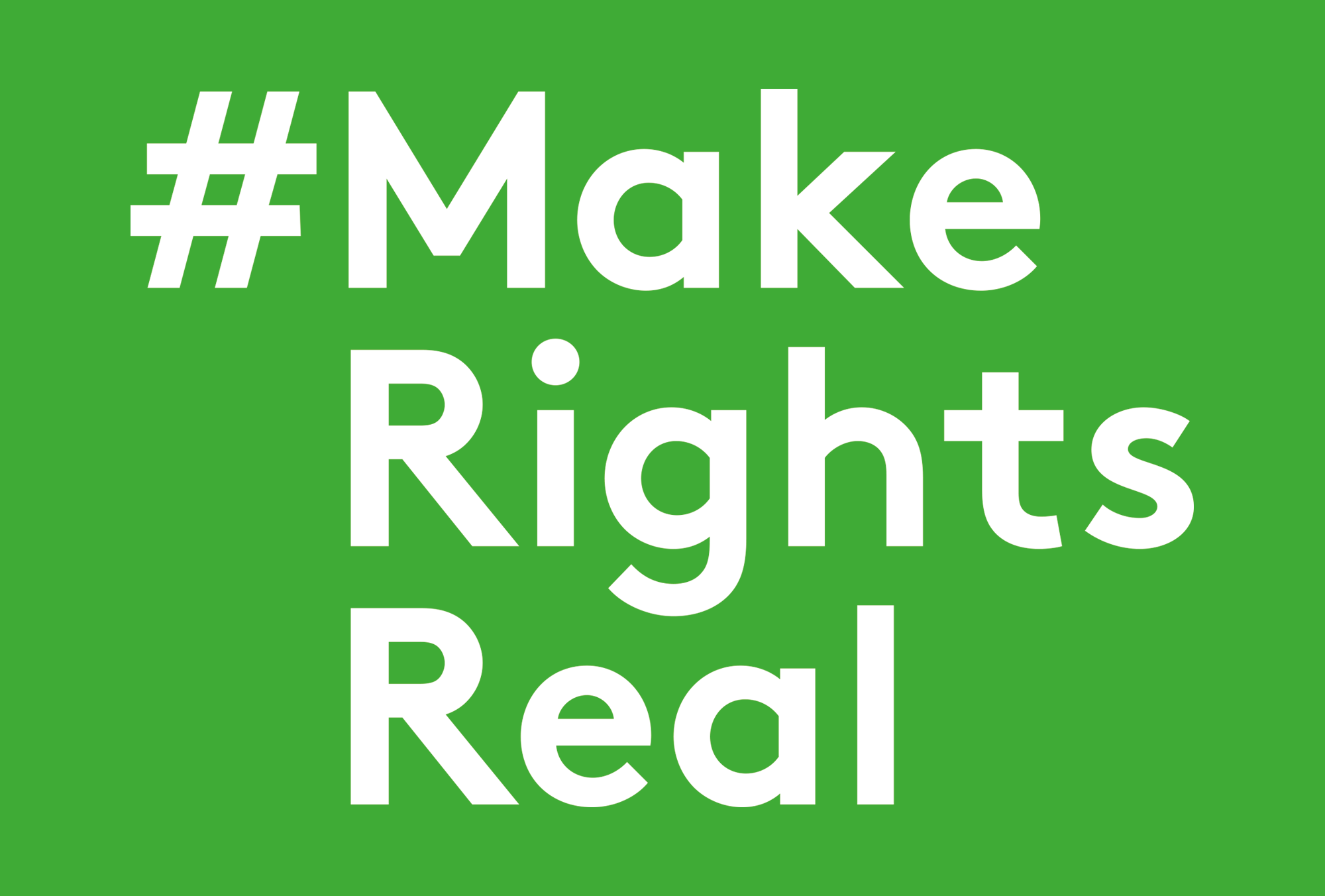 Cover image: Make Rights Real