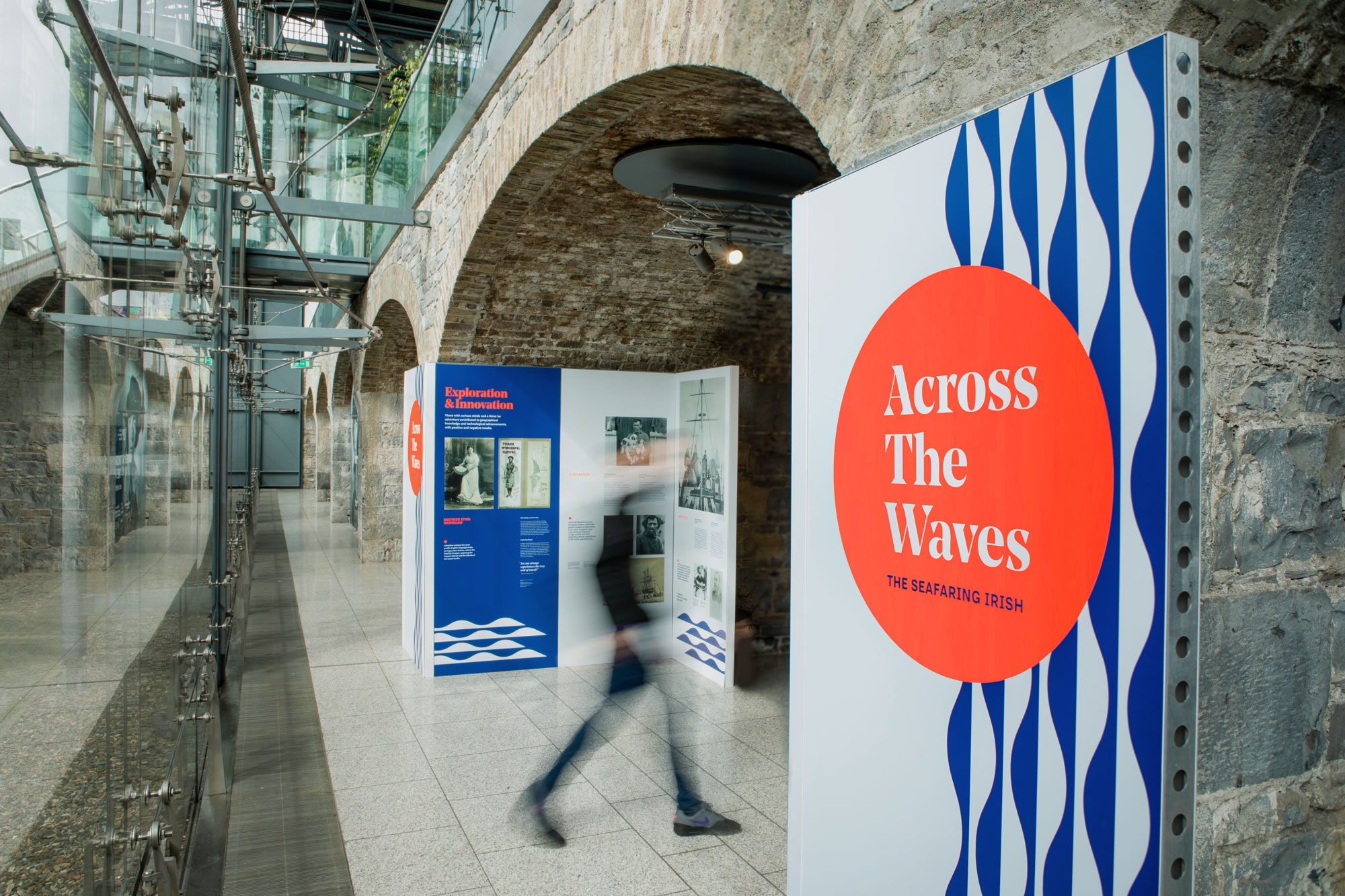 Cover image: Across The Waves Exhibition