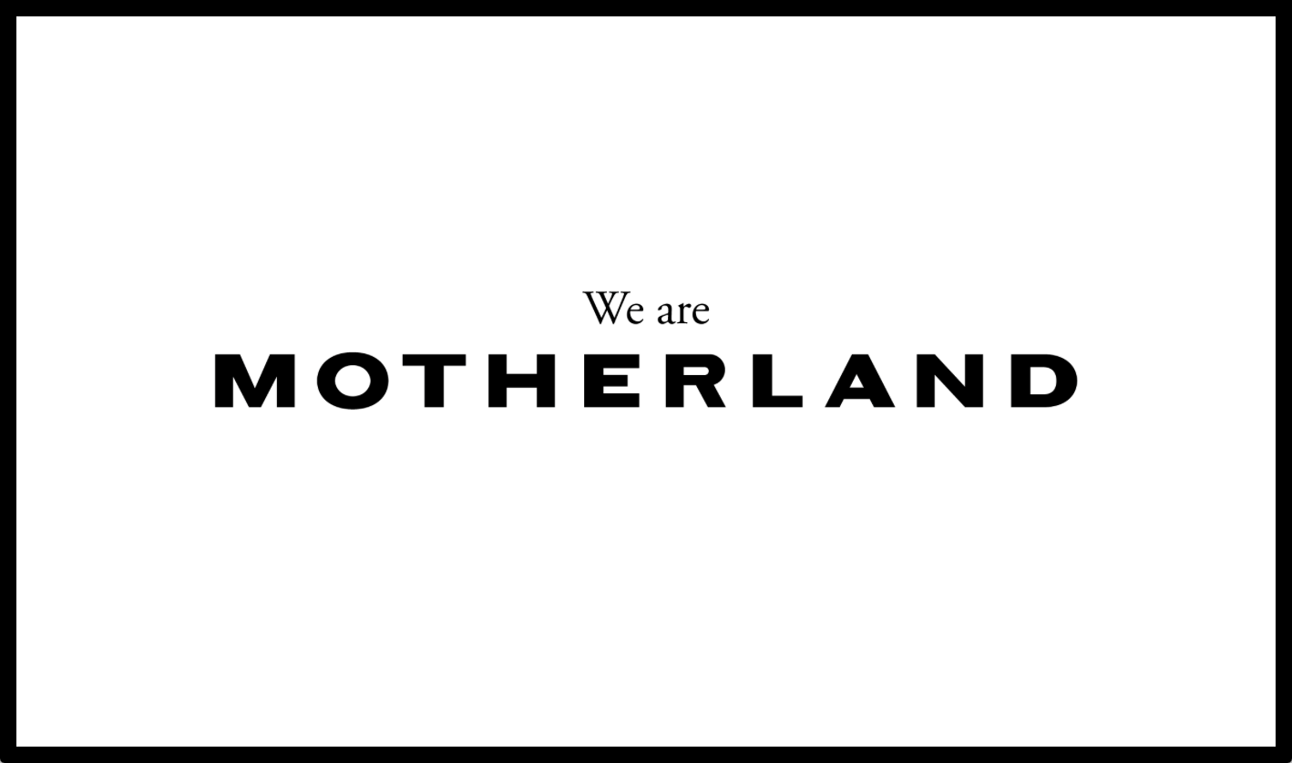 Cover image: Motherland – Online