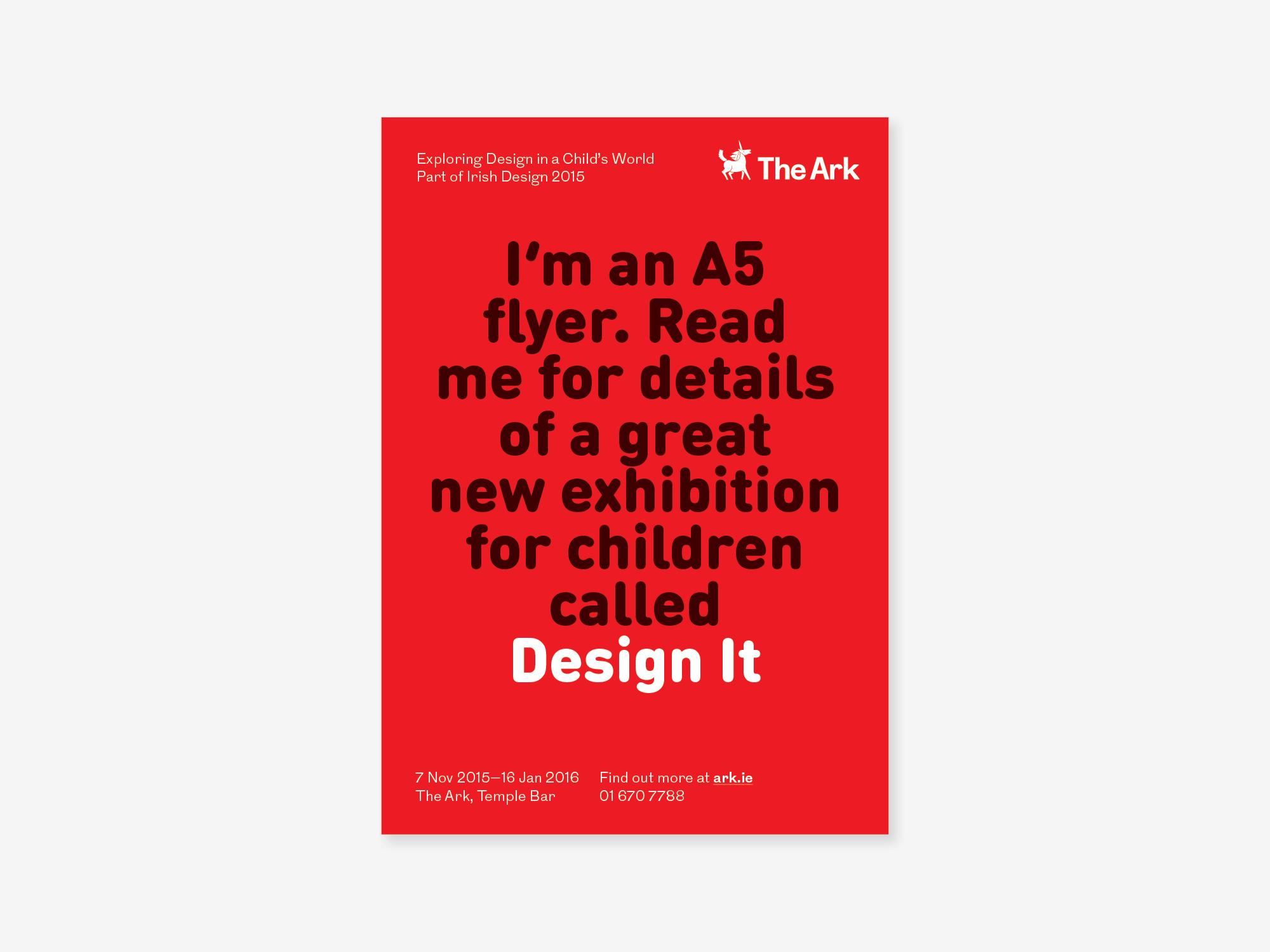Cover image: Ark Design It