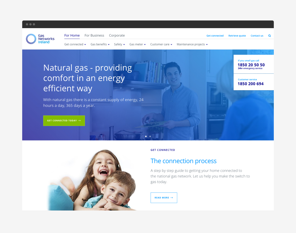 Cover image: Gas Networks Ireland Website