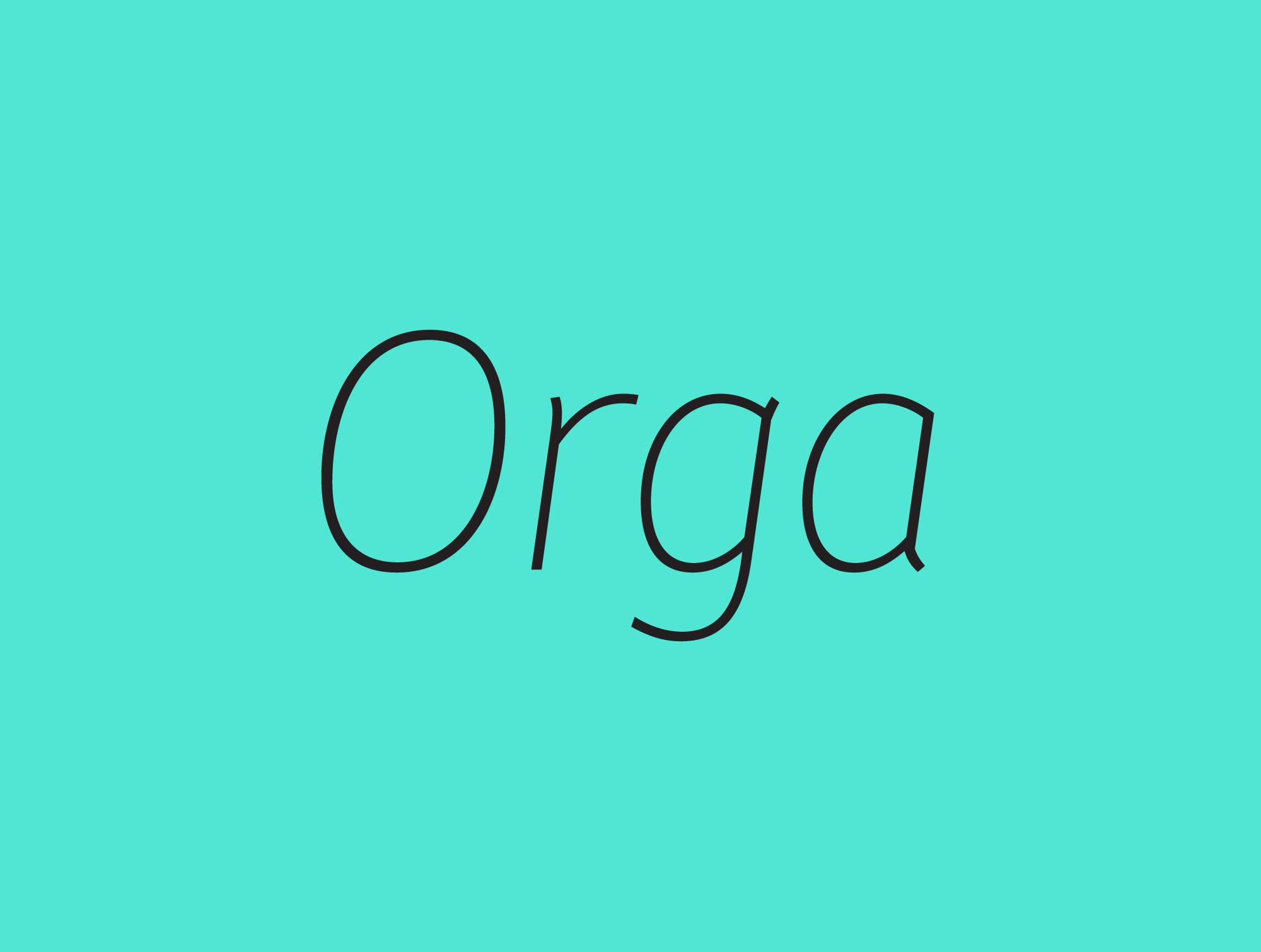 Cover image: Orga (2012)