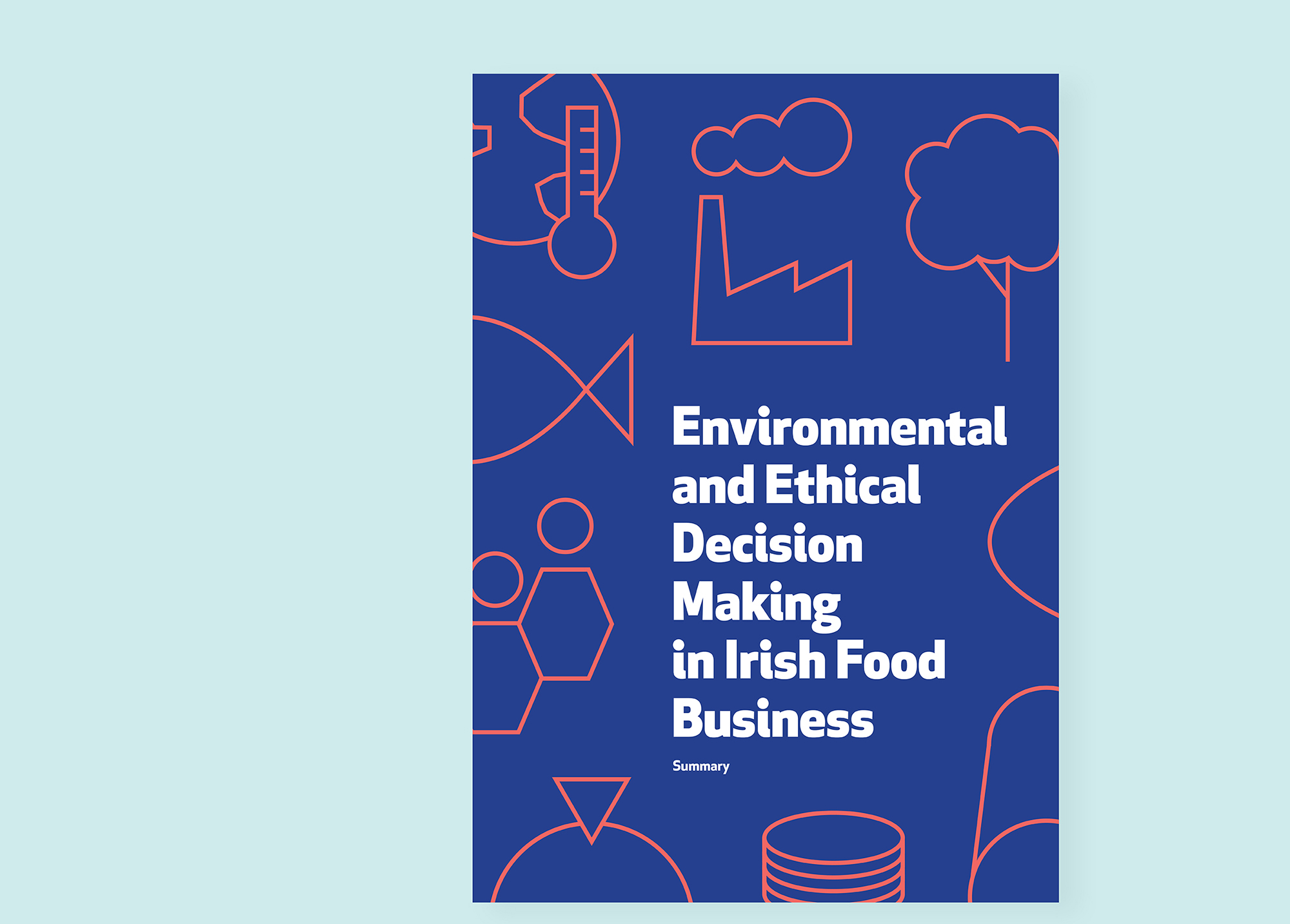 Cover image: Environmental and Ethical Decision Making in Irish Food Business Report