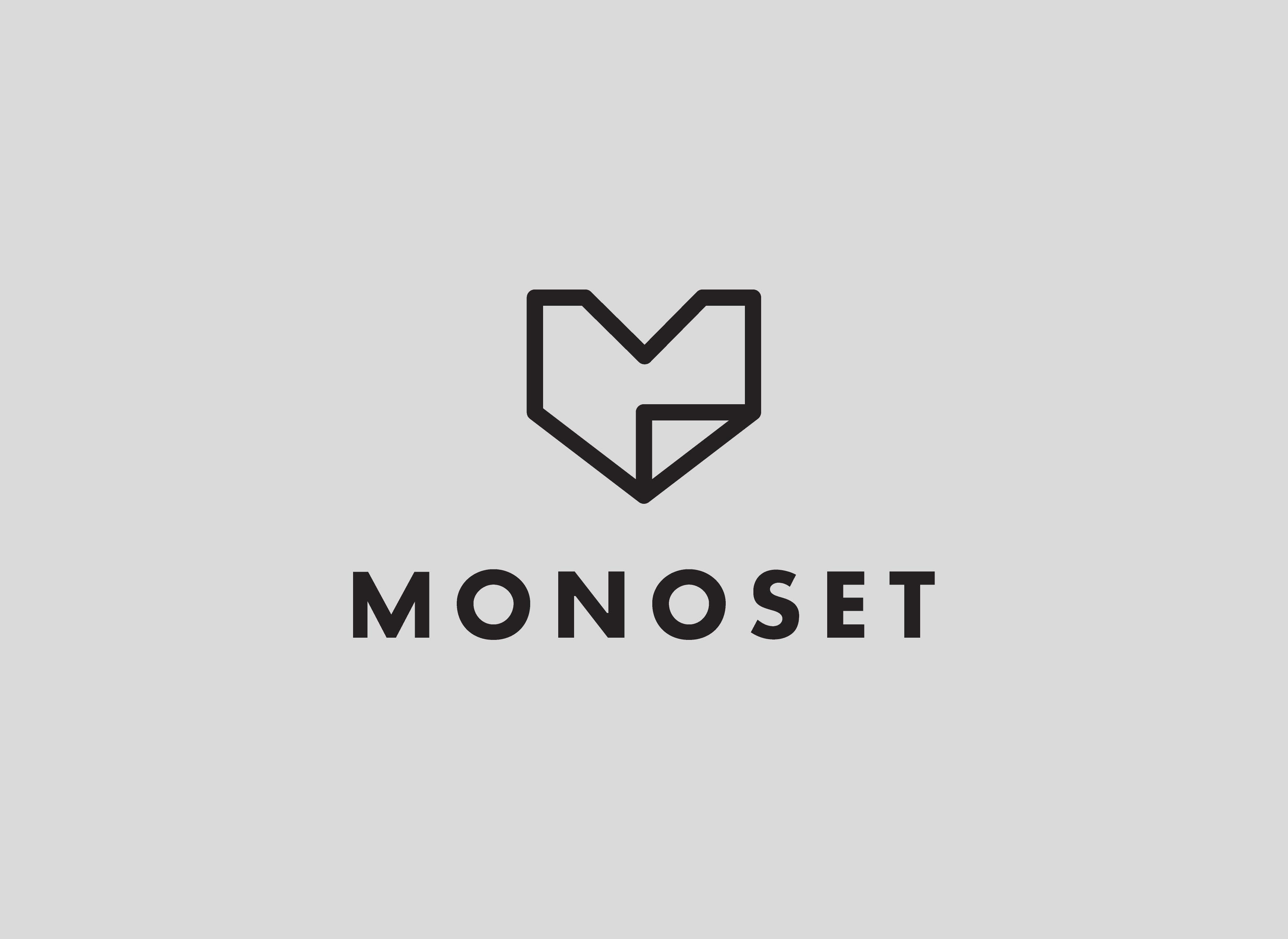 Cover image: Monoset Brand Identity