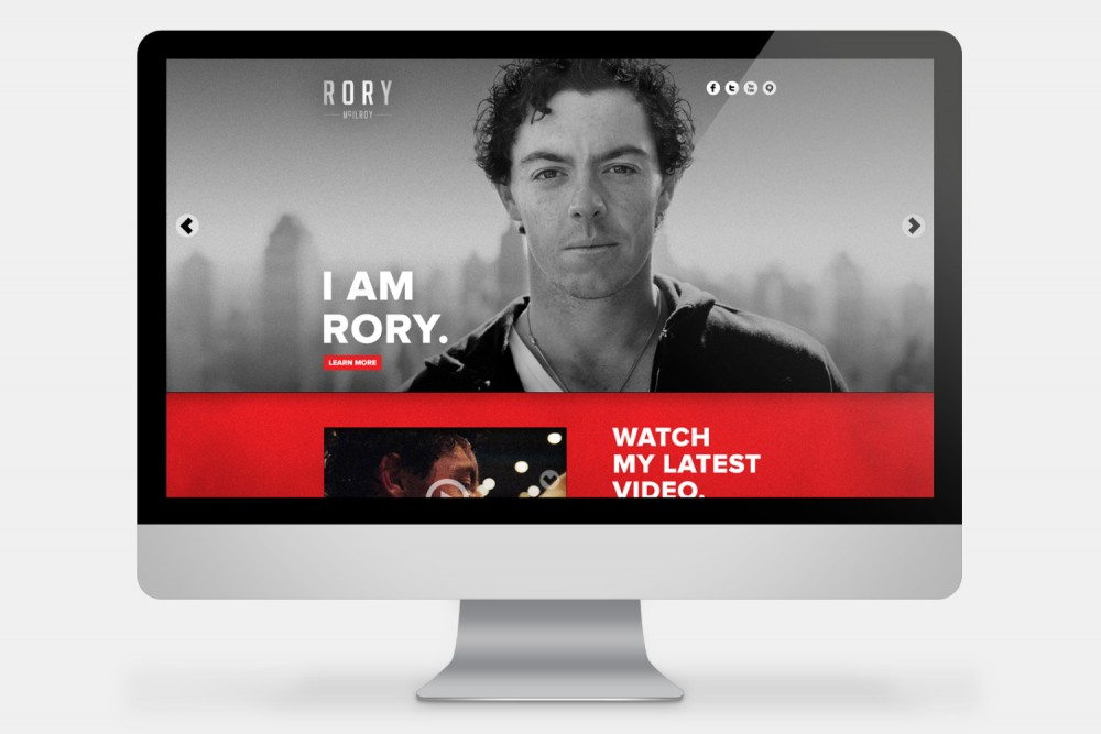 Cover image: Rory McIlroy (2012)