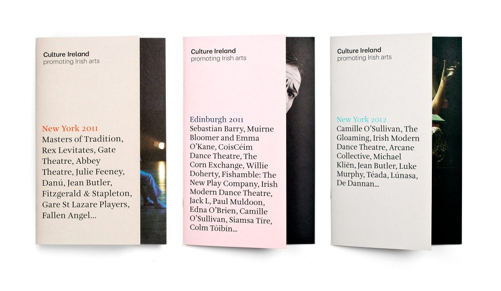 Cover image: Culture Ireland Programmes