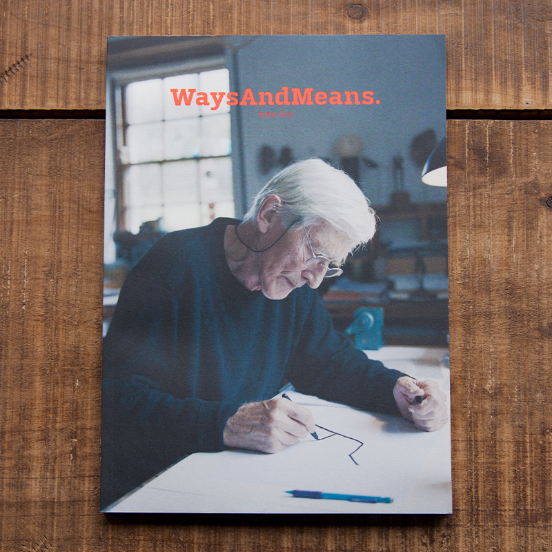 Cover image: Ways & Means Magazine