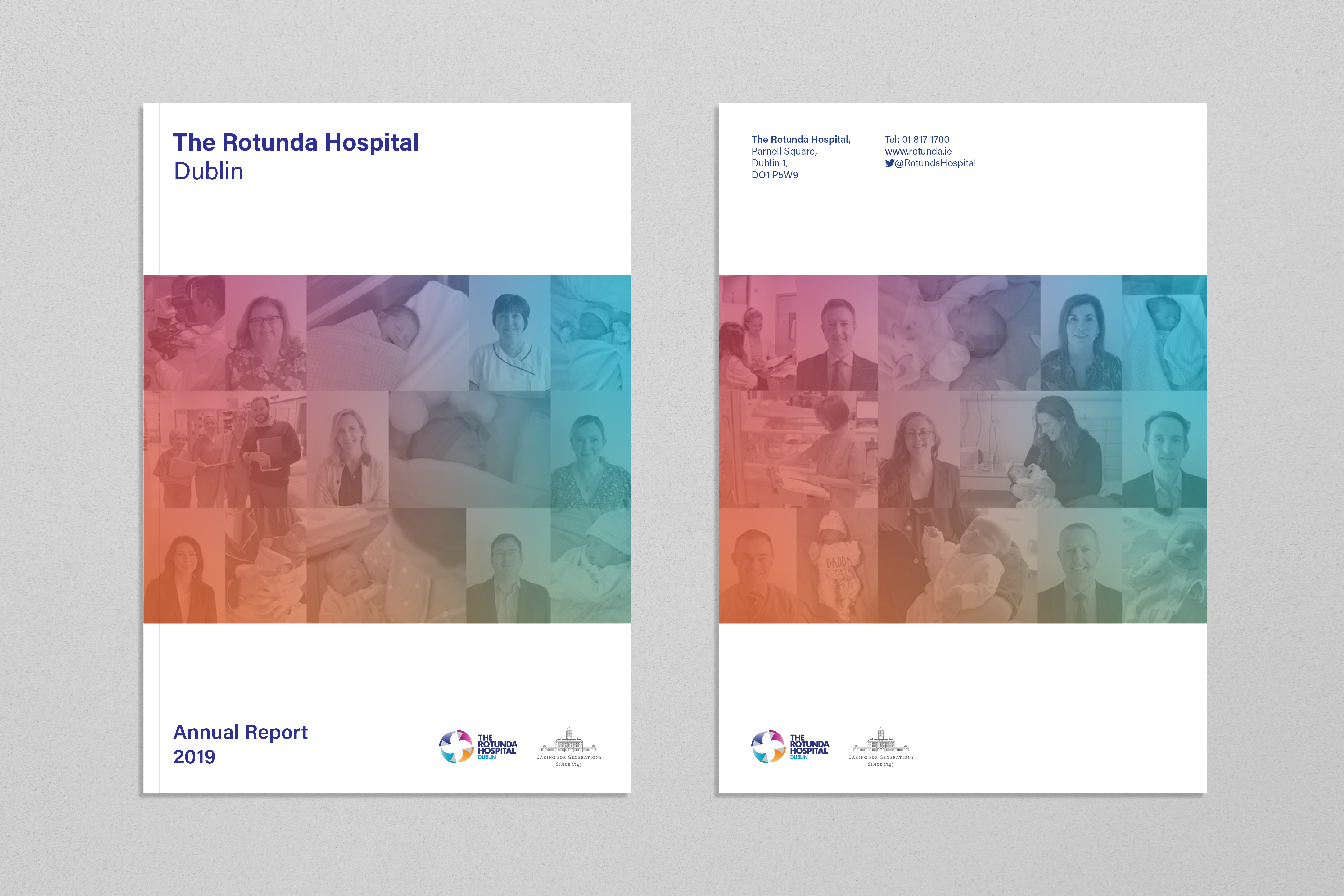 Cover image: The Rotunda Hospital Annual Report 2019