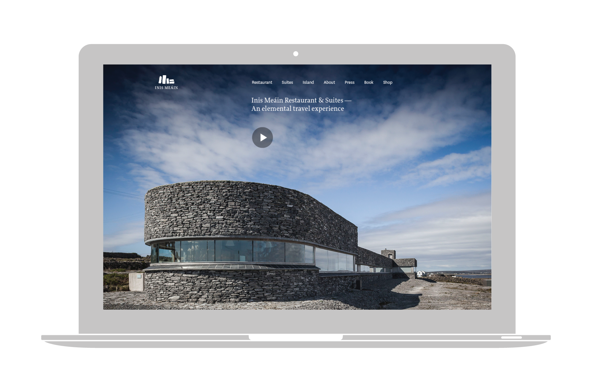 Cover image: Inis Méain Restaurant & Suites Website (2013)