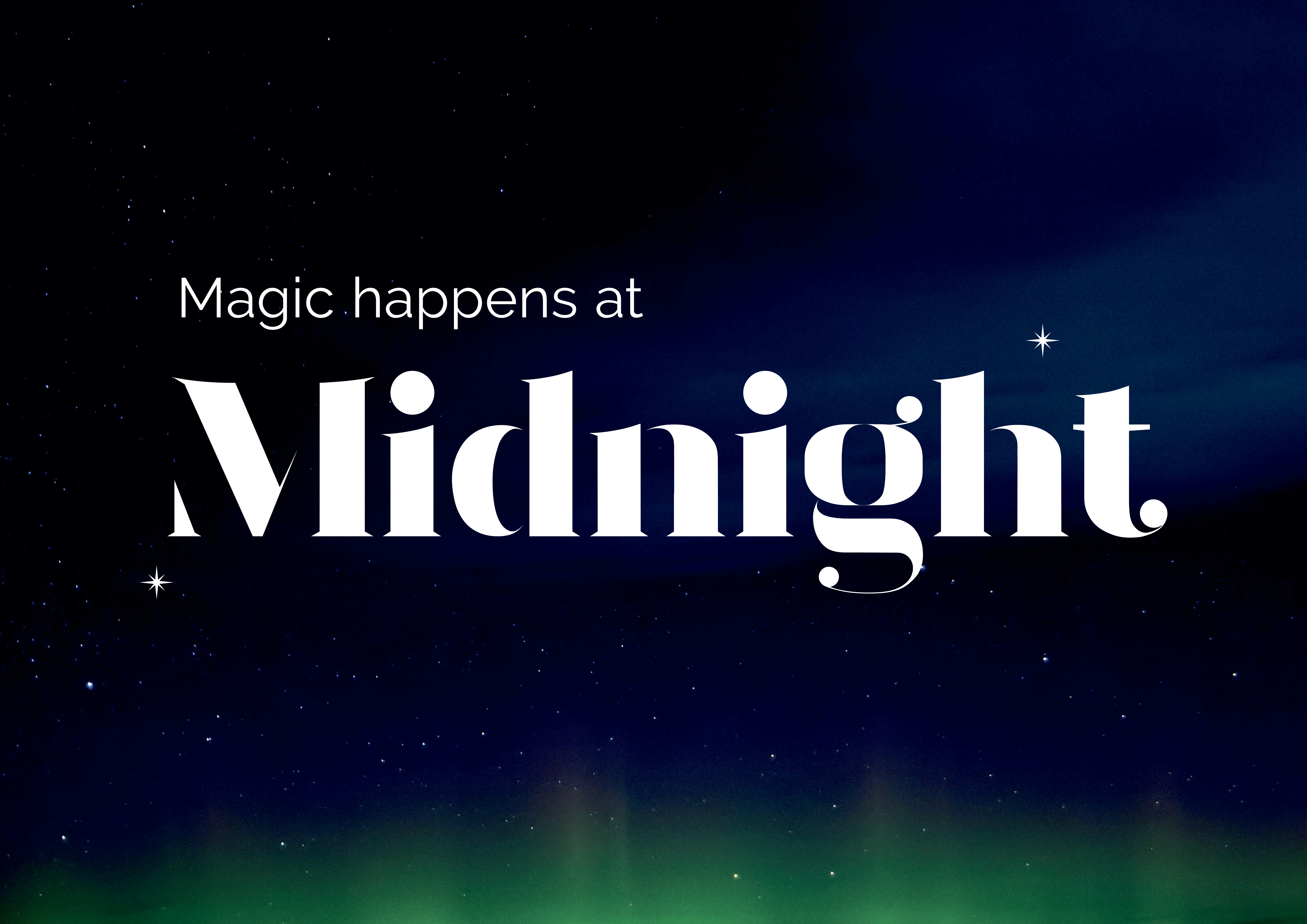 Cover image: Midnight Logo