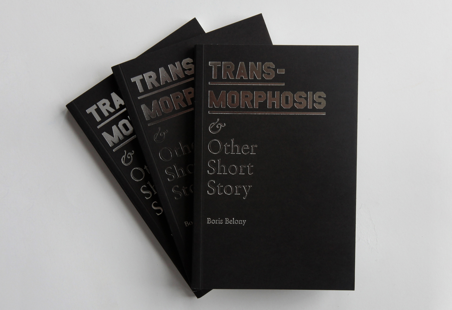 Cover image: Transmorphosis & Other Short Story