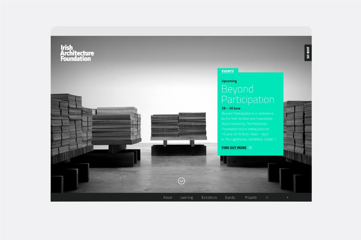 Cover image: Irish Architecture Foundation Website (2017)