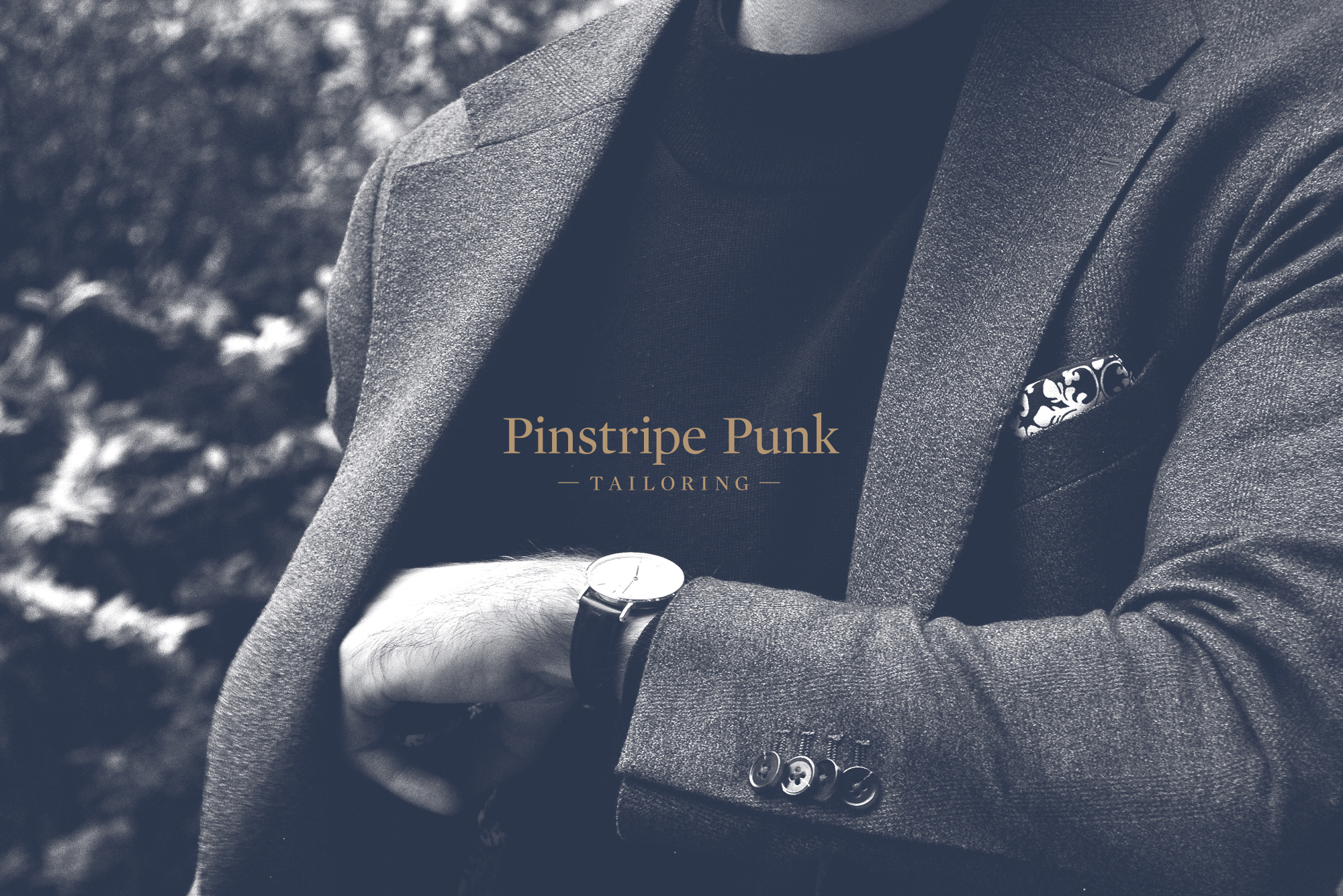 Cover image: Pinstripe Punk Tailoring